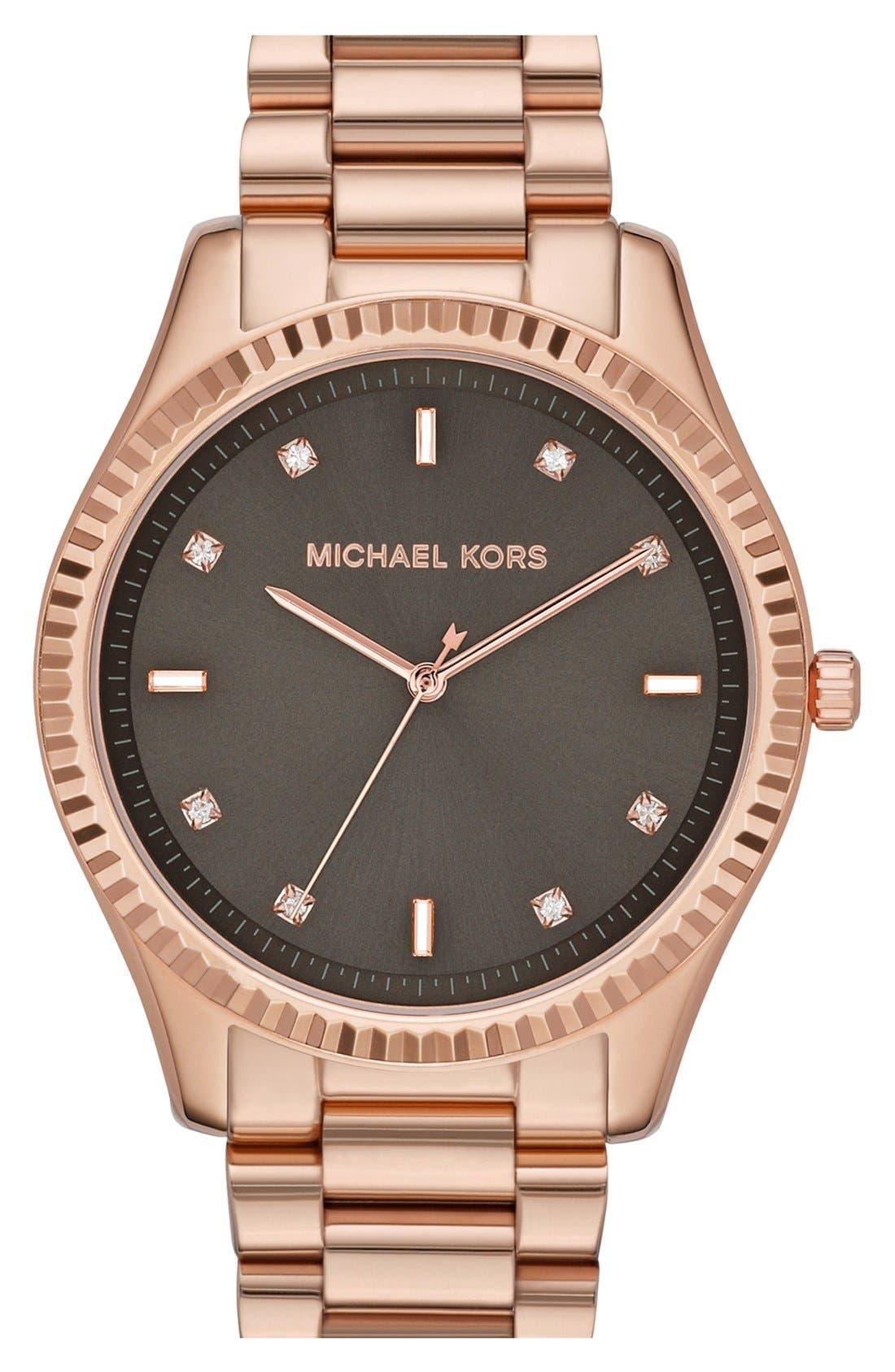 Alternate Image 1 Selected - Michael Kors 'Blake' Bracelet Watch, 42mm
