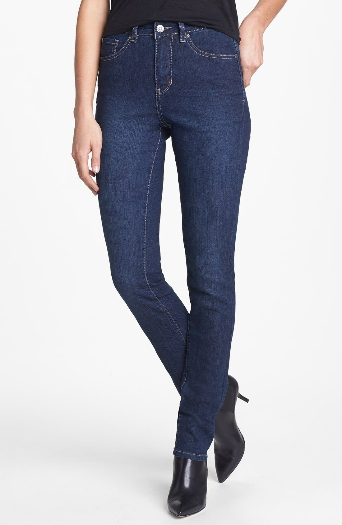 Alternate Image 1 Selected - Jag Jeans 'Holly' Slim Fit Jeans (Blue Shadow)