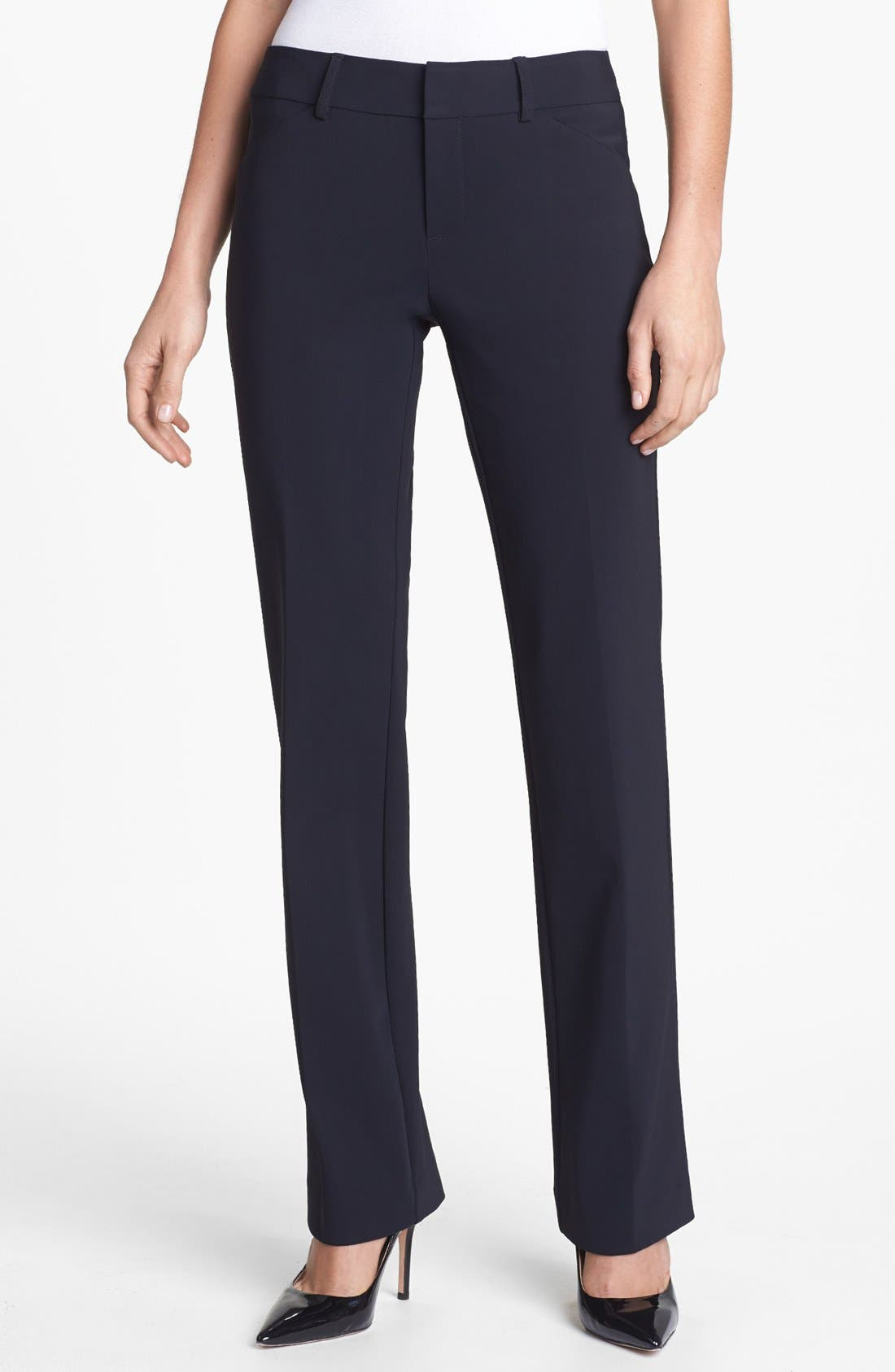 Alternate Image 1 Selected - AWoman Straight Leg Trousers
