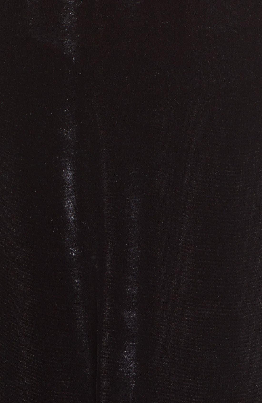 Alternate Image 3  - Eileen Fisher Washable Velvet & Silk Dress