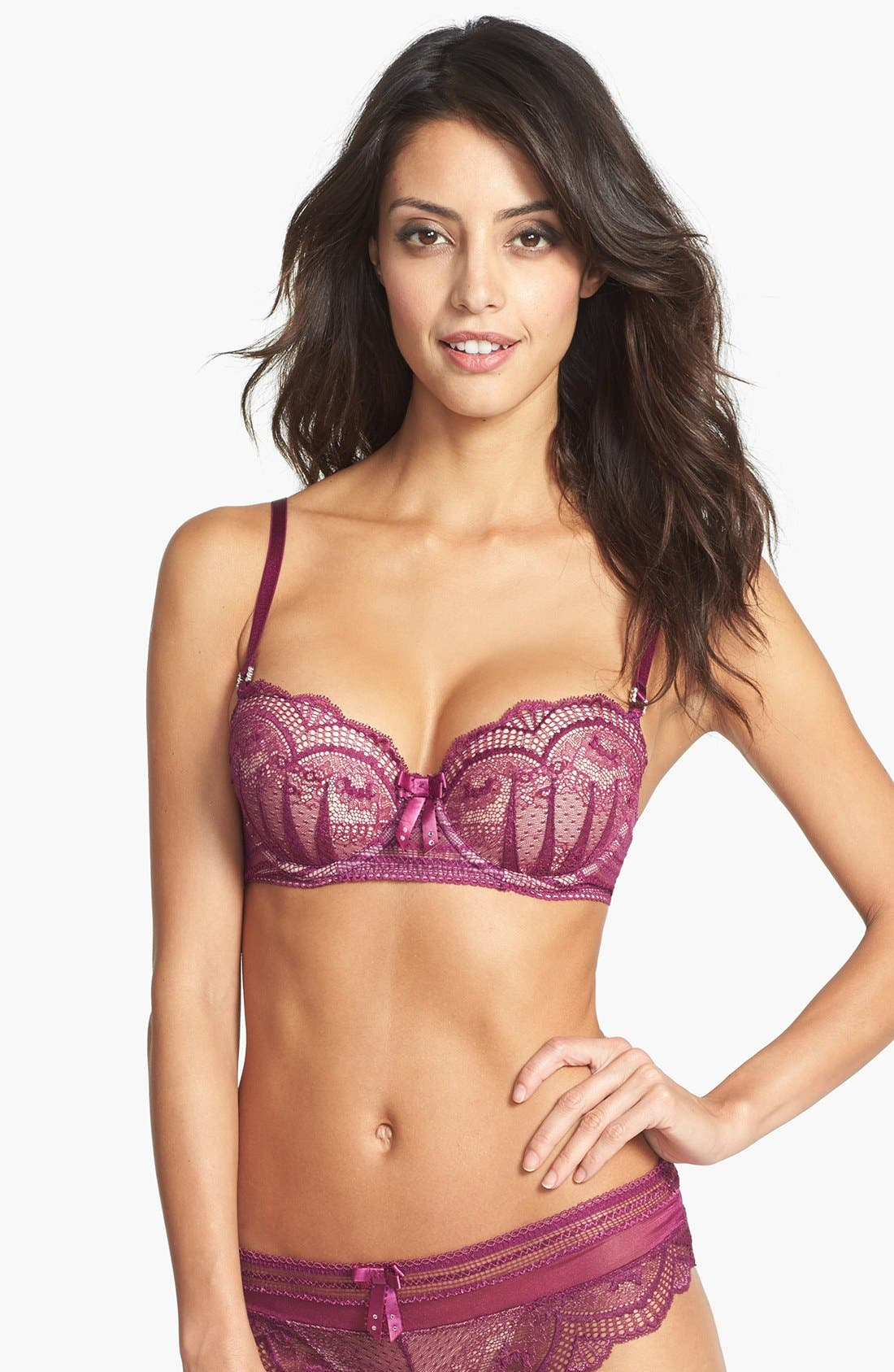 Main Image - Pleasure State 'Valley of Peace' Underwire Balconette Bra