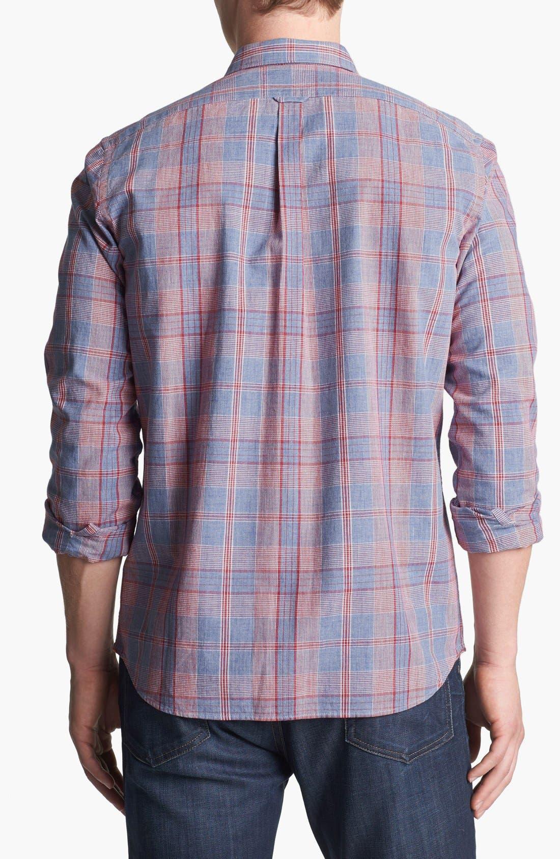 Alternate Image 2  - Façonnable Tailored Fit Sport Shirt