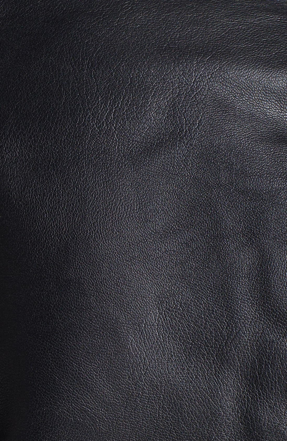 Alternate Image 3  - BLANKNYC 'Black Light' Faux Shearling Lined Faux Leather Jacket