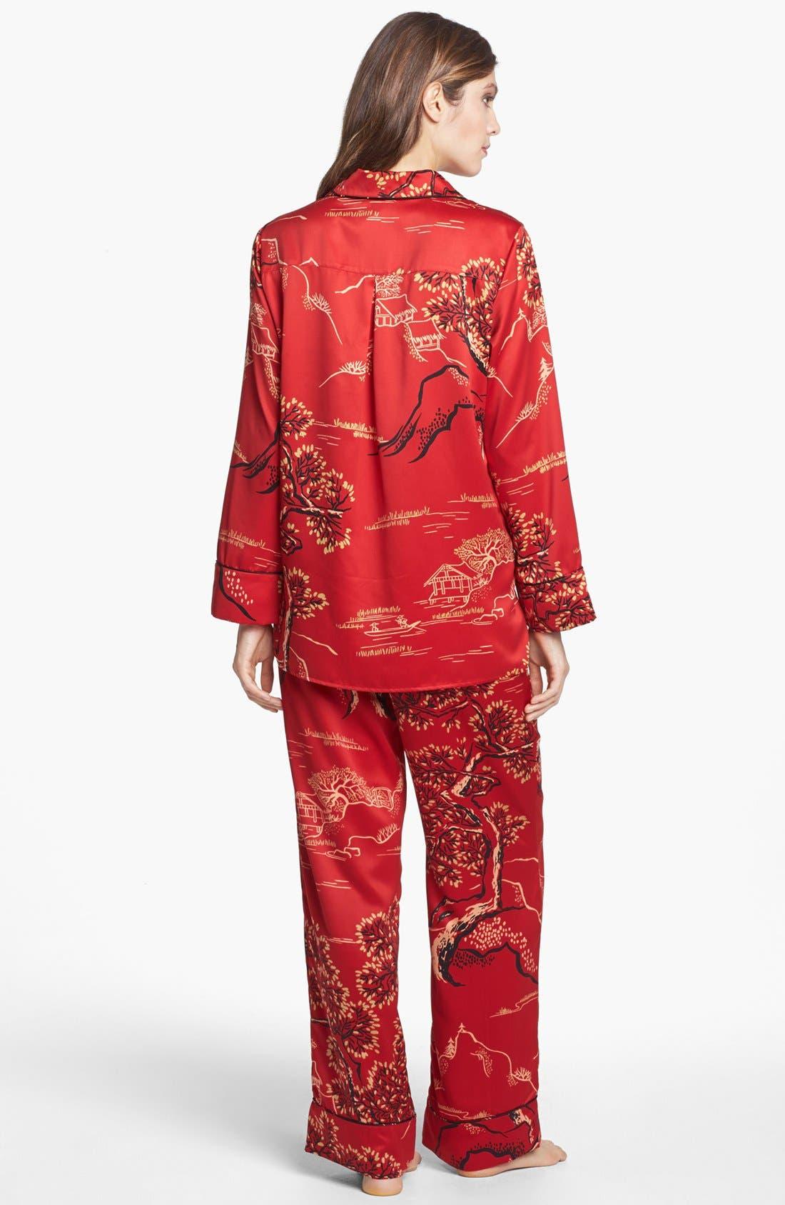 Alternate Image 2  - Natori 'Pagoda' Pajamas