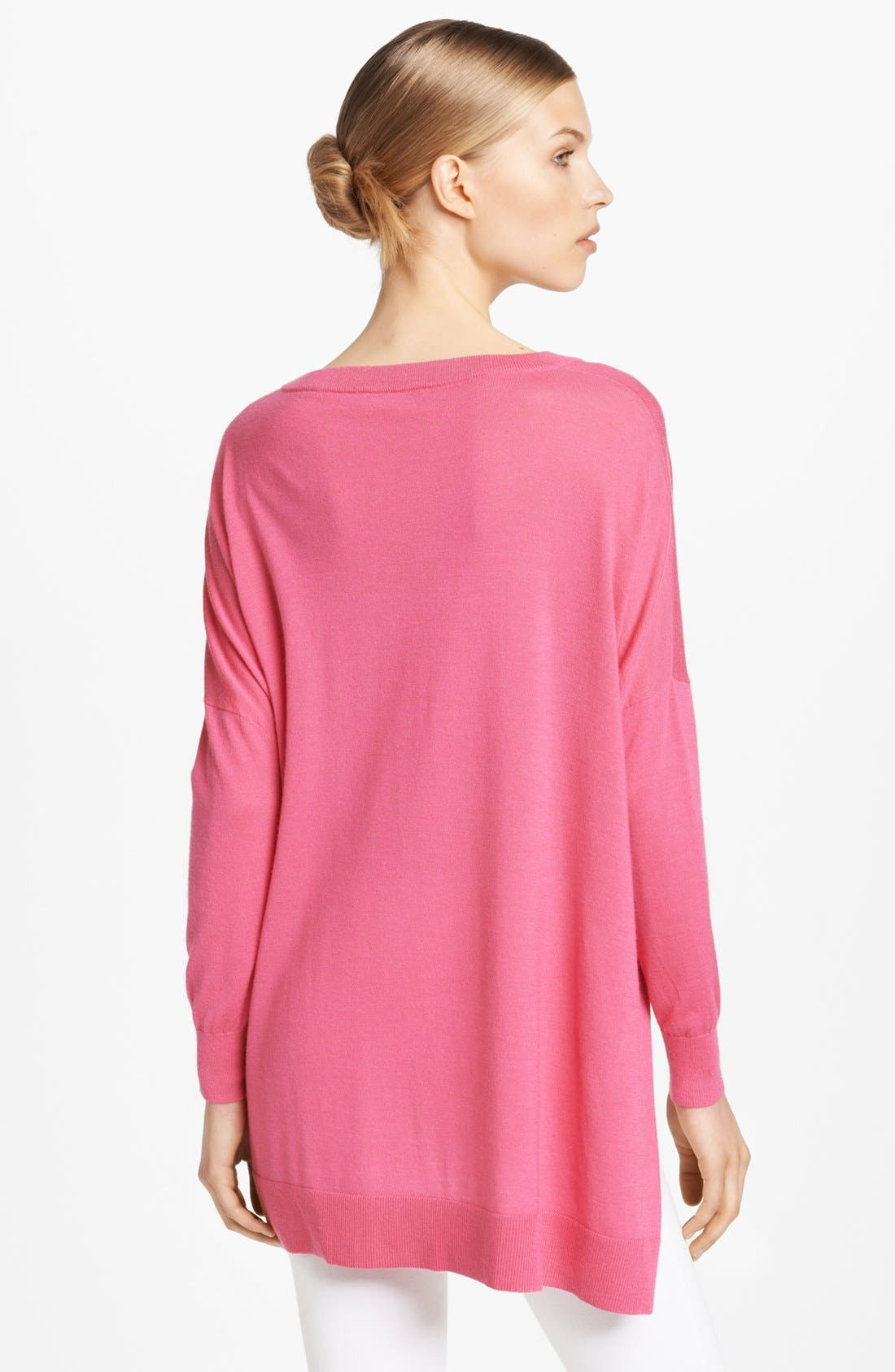 Alternate Image 2  - Michael Kors High/Low Sweater
