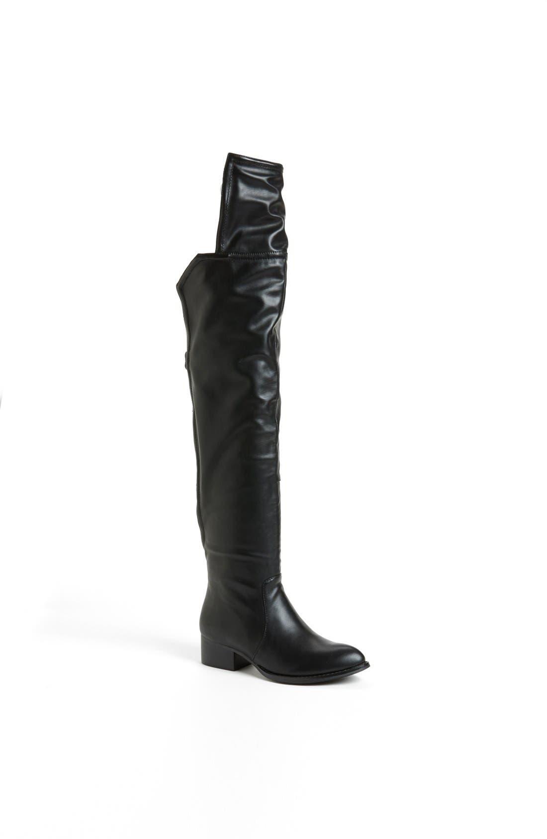 Alternate Image 1 Selected - Jeffrey Campbell 'Backside' Backless Over the Knee Boot