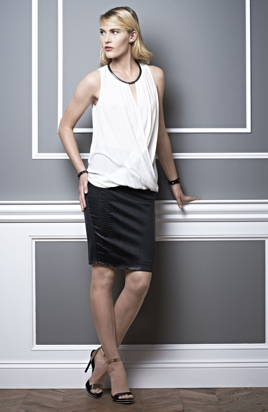Alternate Image 1 Selected - Ella Moss Tank & Bailey 44 Skirt