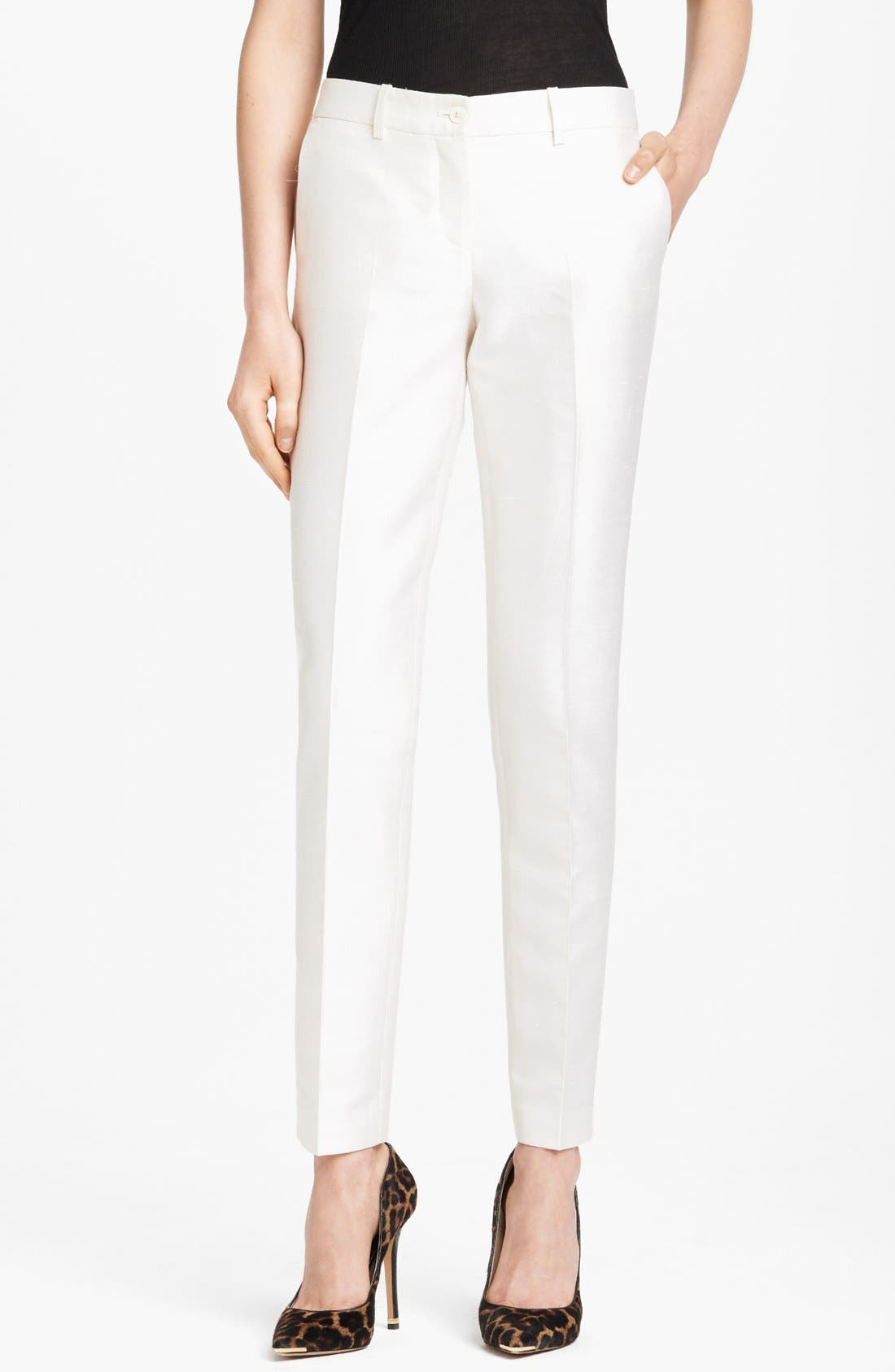 Alternate Image 1 Selected - SHANTUNG SAMANTHA PANT
