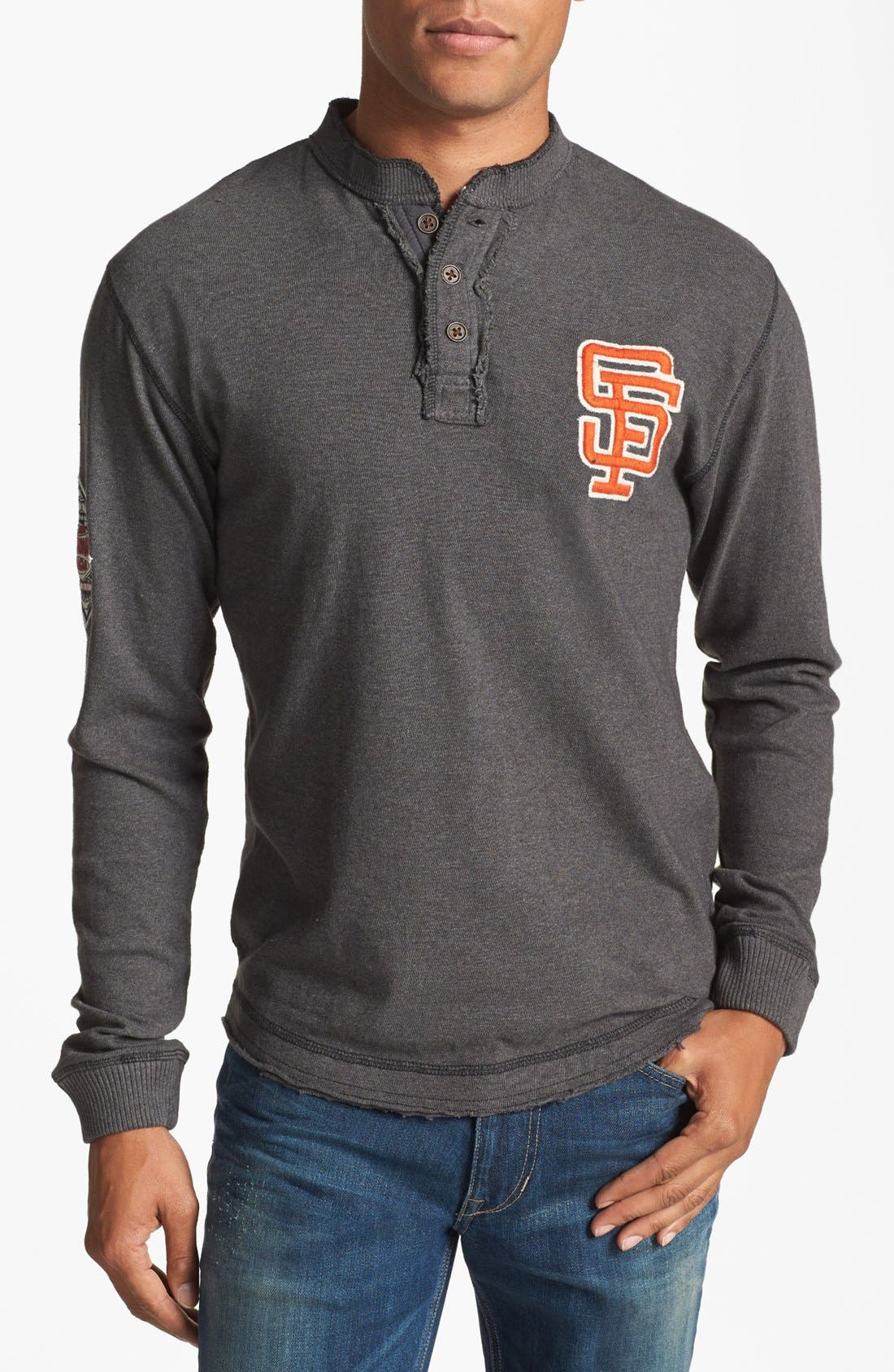 Alternate Image 1 Selected - Red Jacket 'San Francisco Giants - Ten Grand' Henley