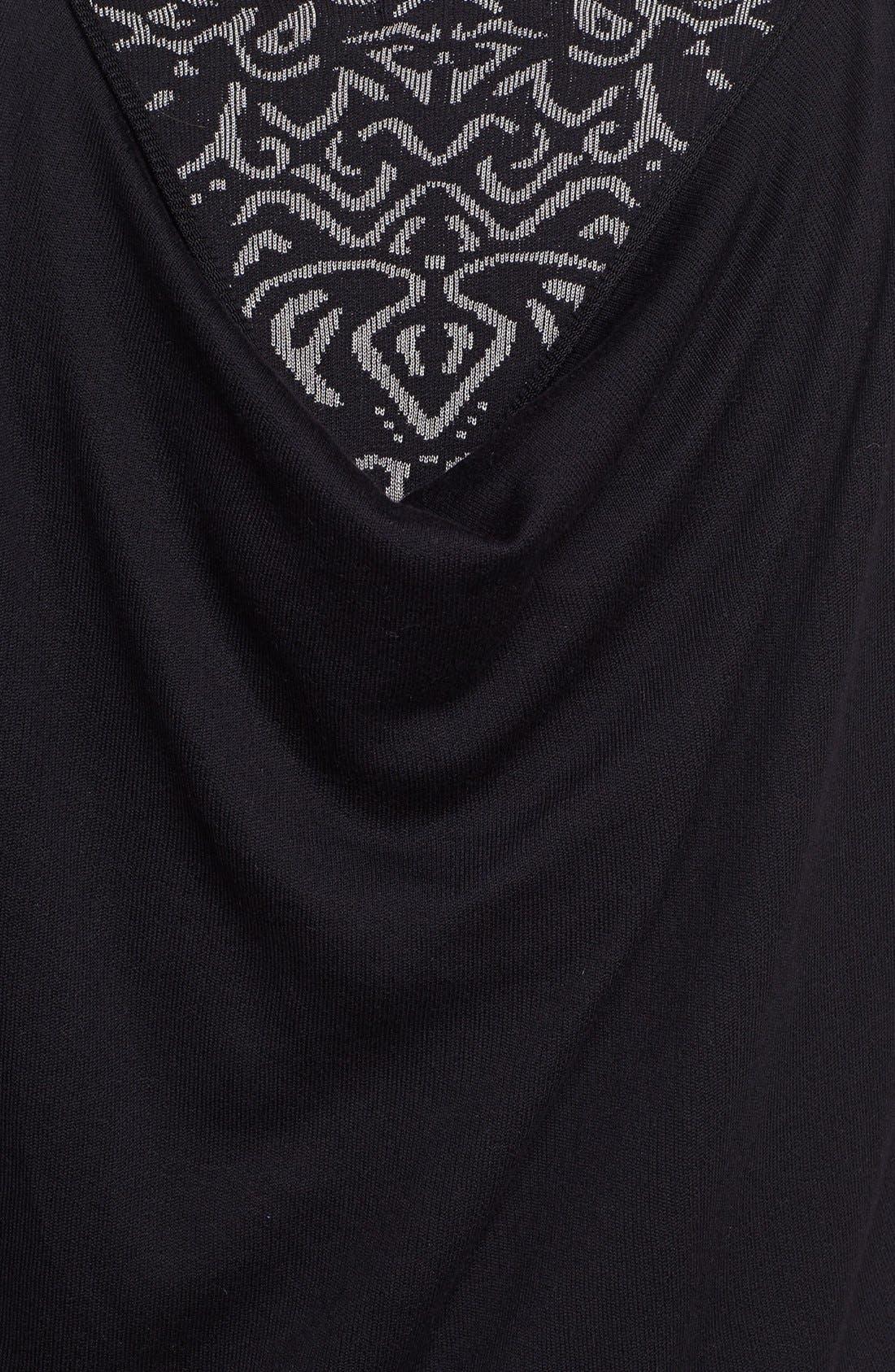 Alternate Image 3  - NIC+ZOE Back Drape Sweater (Plus Size)