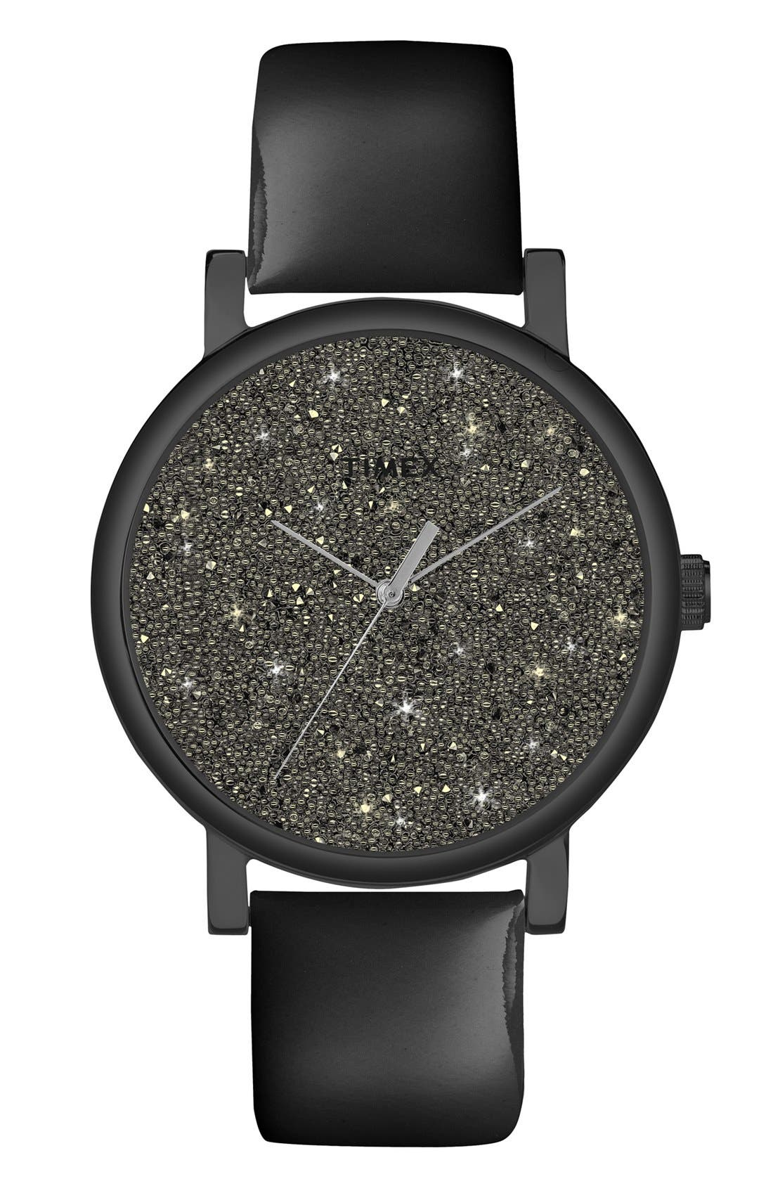 Main Image - Timex® 'Crystal Sky' Pavé Dial Watch, 38mm