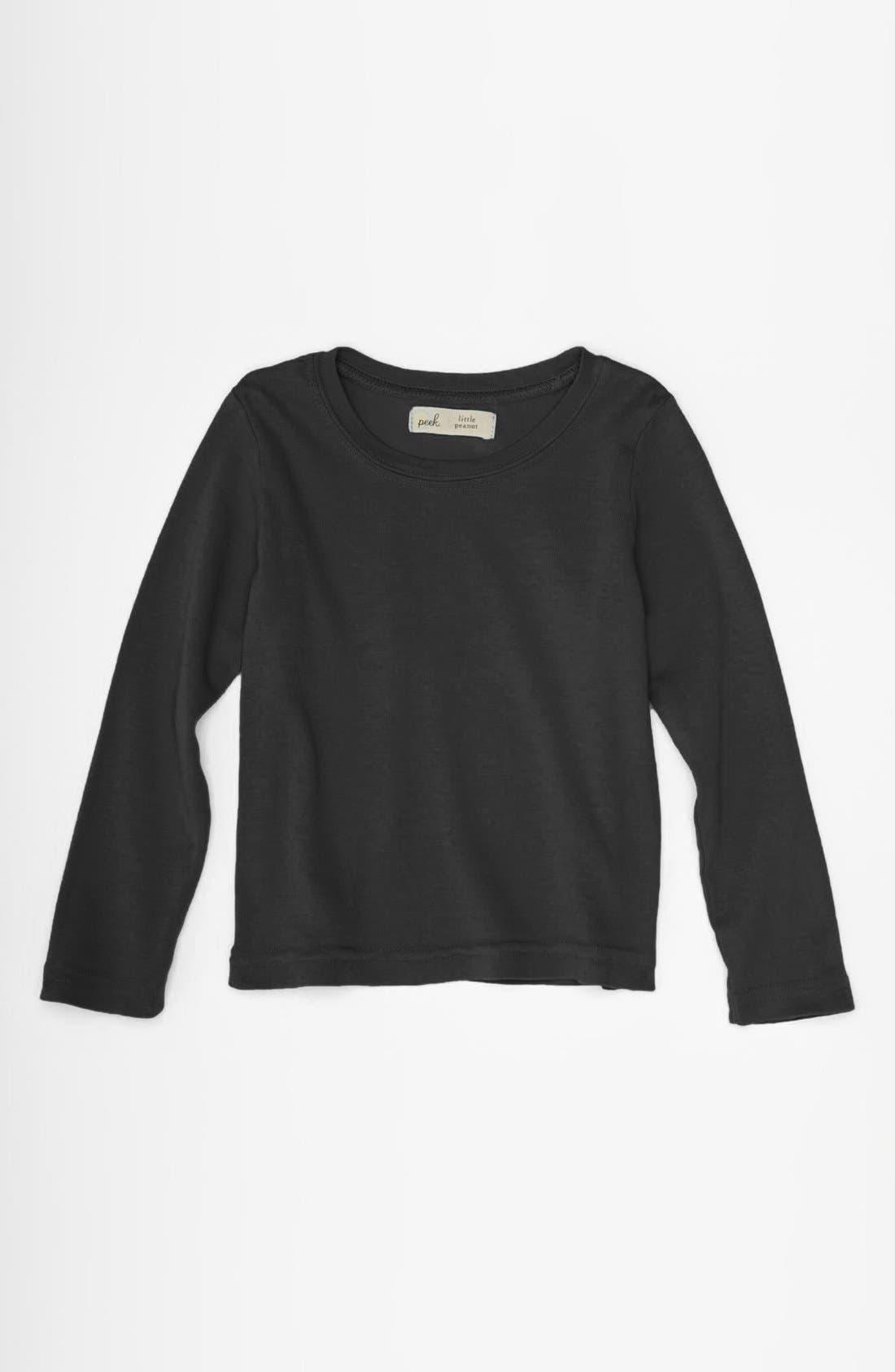 Alternate Image 1 Selected - Peek 'Little Peanut' Long Sleeve T-Shirt (Baby)