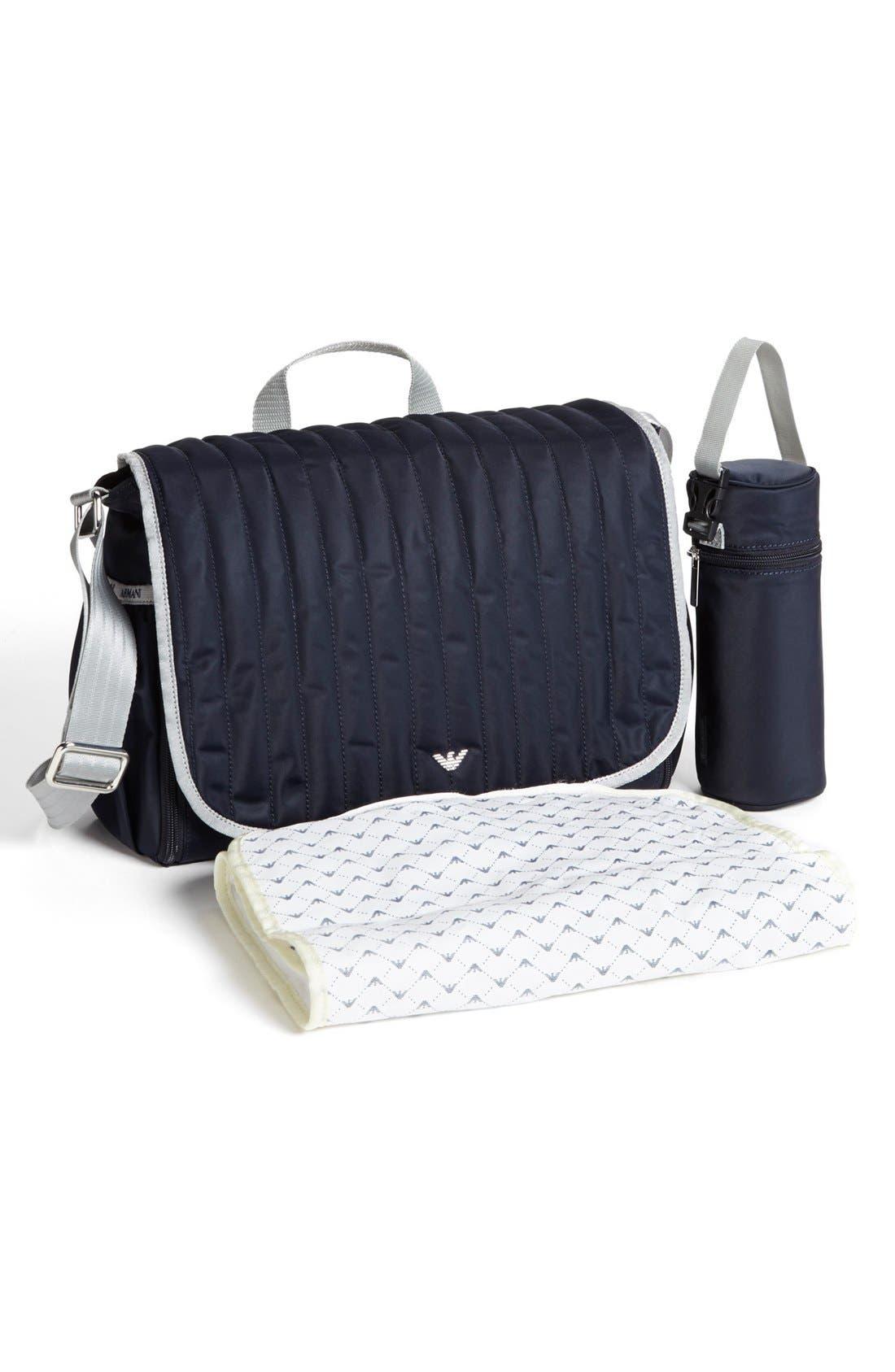 Alternate Image 2  - Armani Junior Diaper Bag