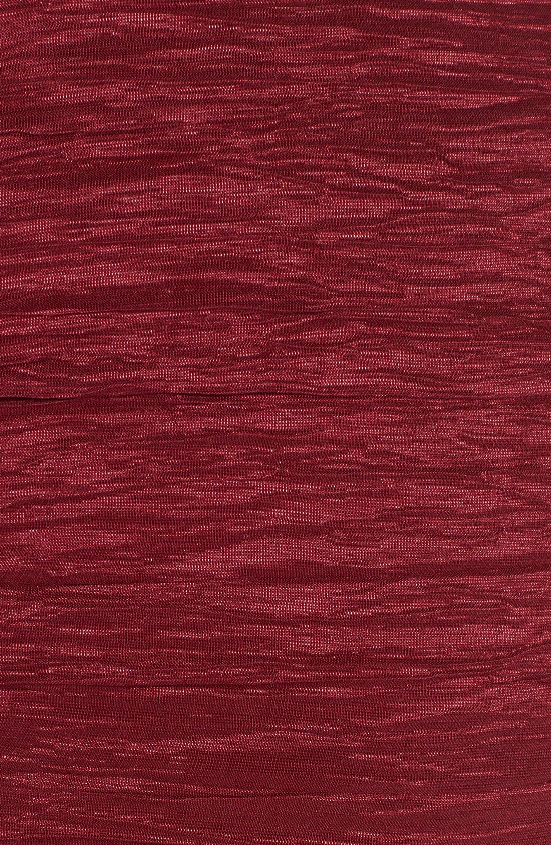 Alternate Image 3  - Calvin Klein Crinkled Taffeta Sheath Dress