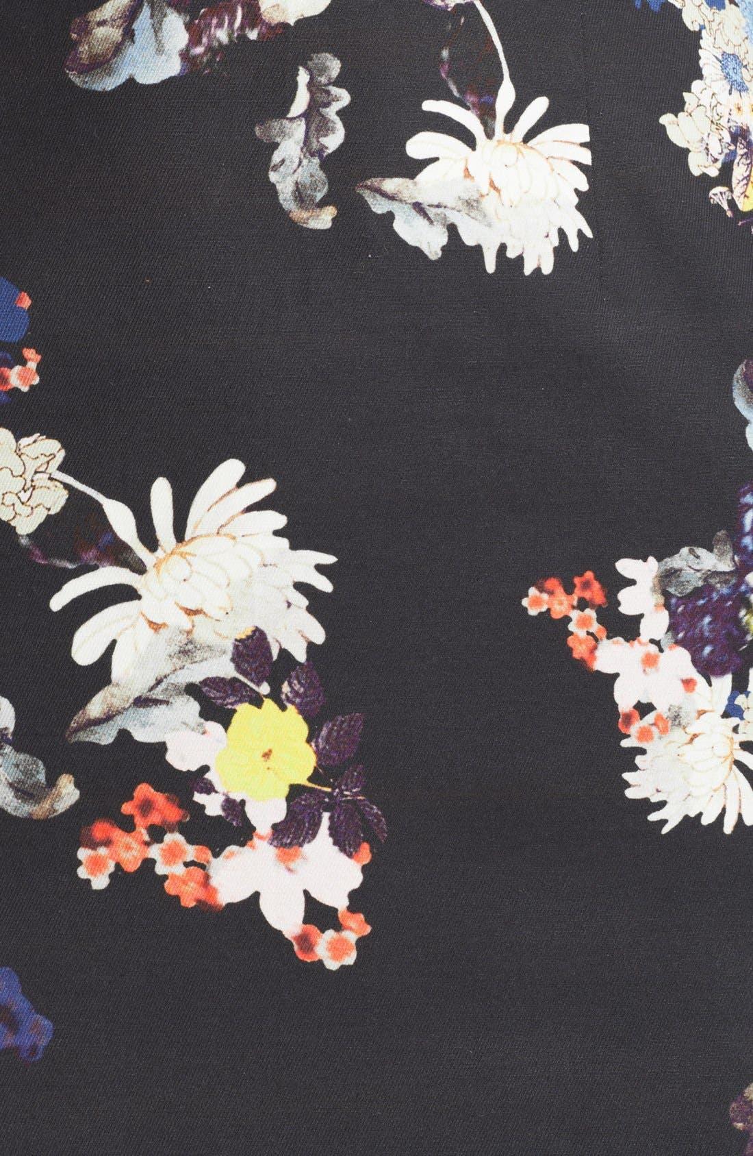 Alternate Image 3  - Erdem Garden Print Fitted Dress