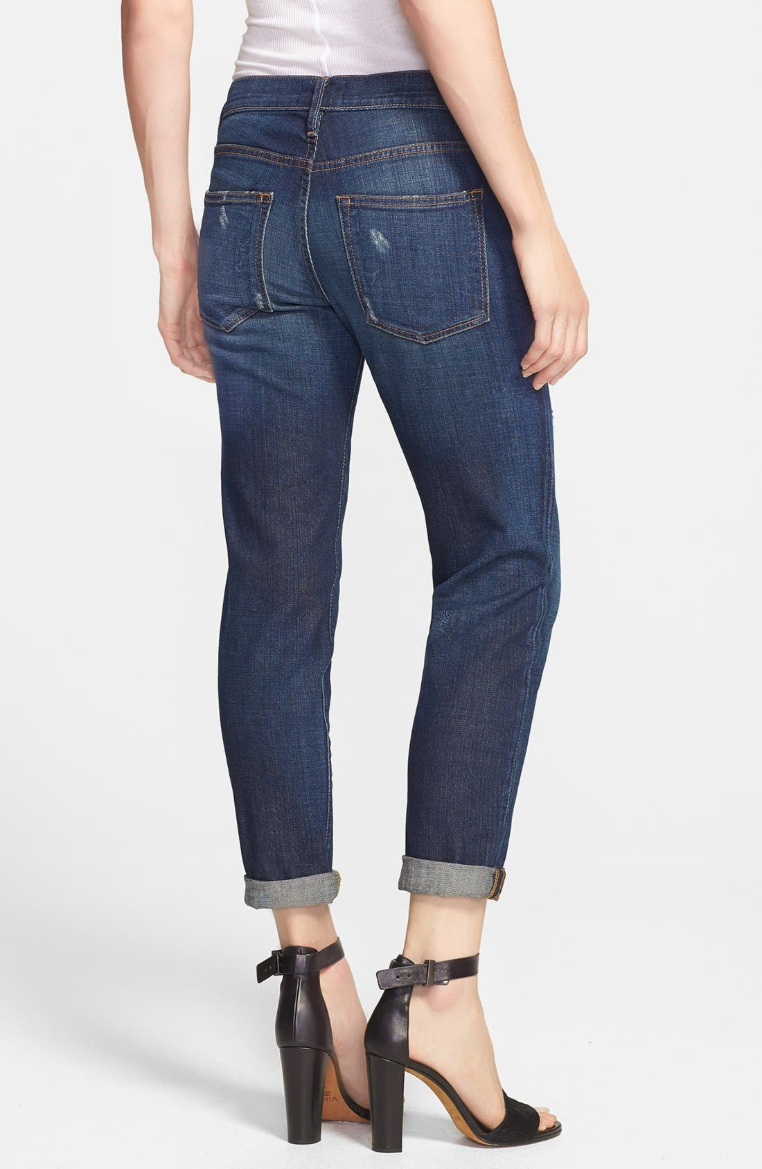 Alternate Image 2  - Vince Relaxed Rolled Jeans (New Vintage)