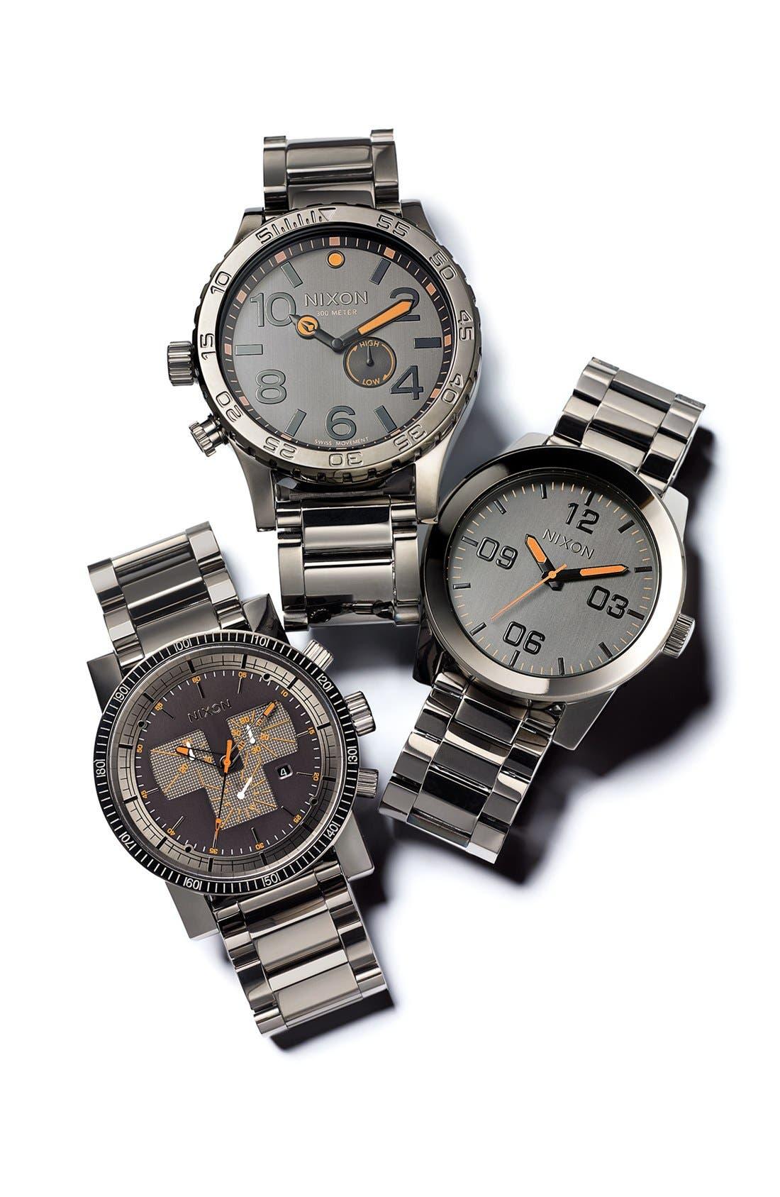 Alternate Image 5  - Nixon 'The Corporal' Bracelet Watch, 48mm