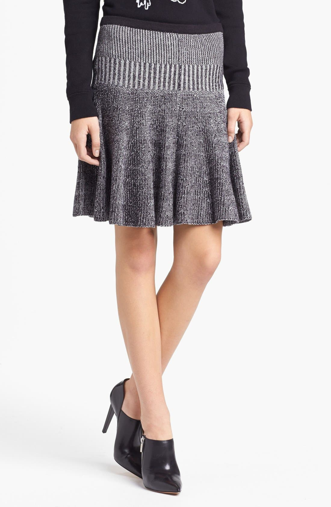 Alternate Image 1 Selected - MARC BY MARC JACOBS 'Jen' Cotton Sweater Skirt
