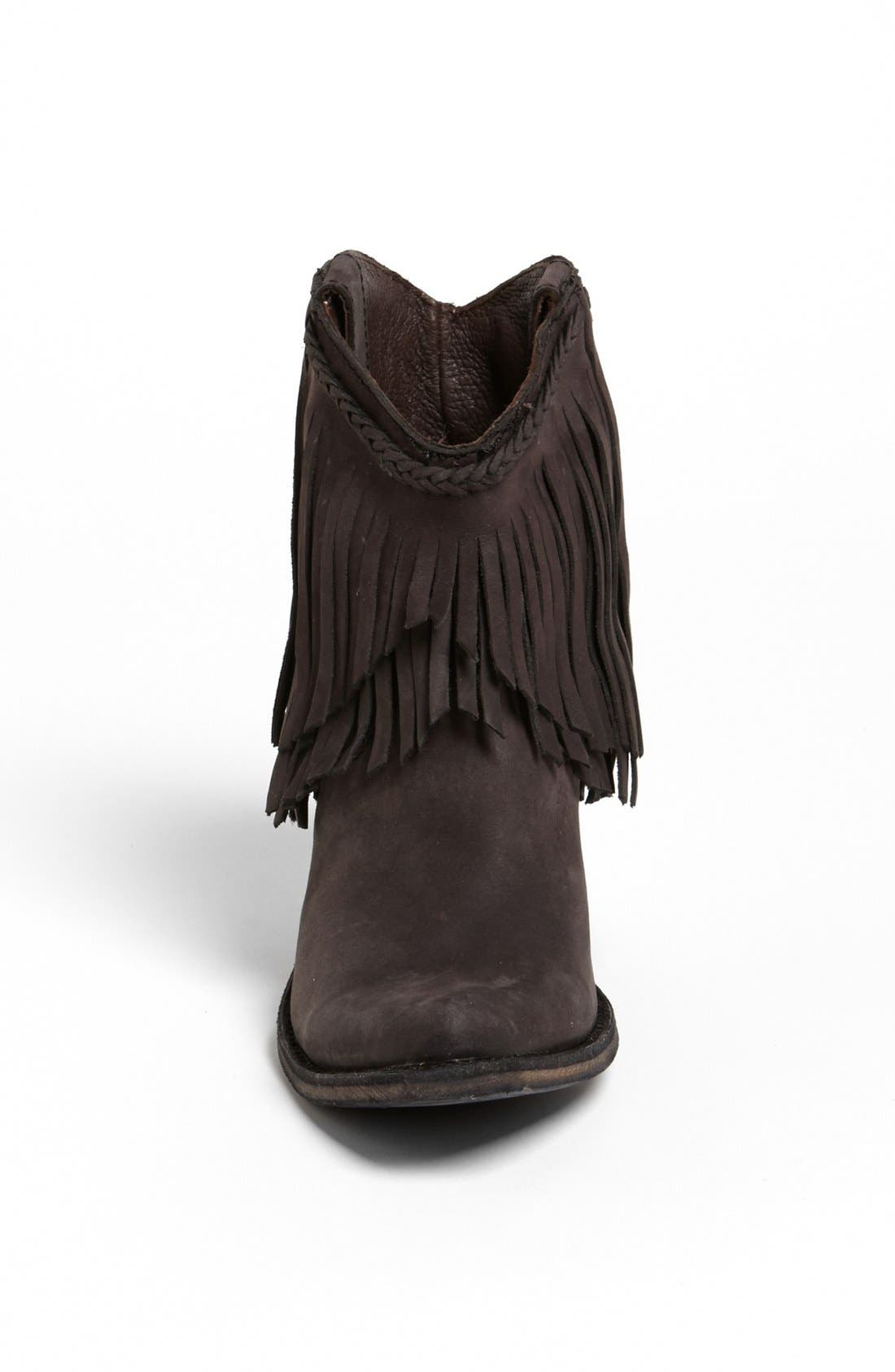 Alternate Image 2  - Liberty Black Fringed Short Boot
