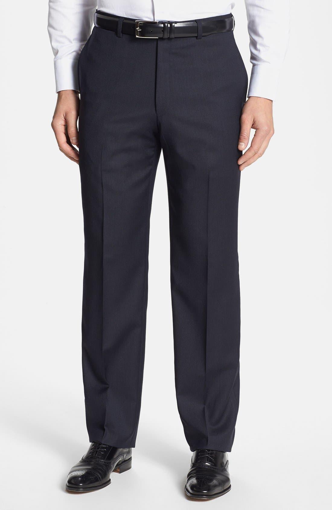 Alternate Image 5  - Hart Schaffner Marx 'New York' Classic Fit Stripe Suit