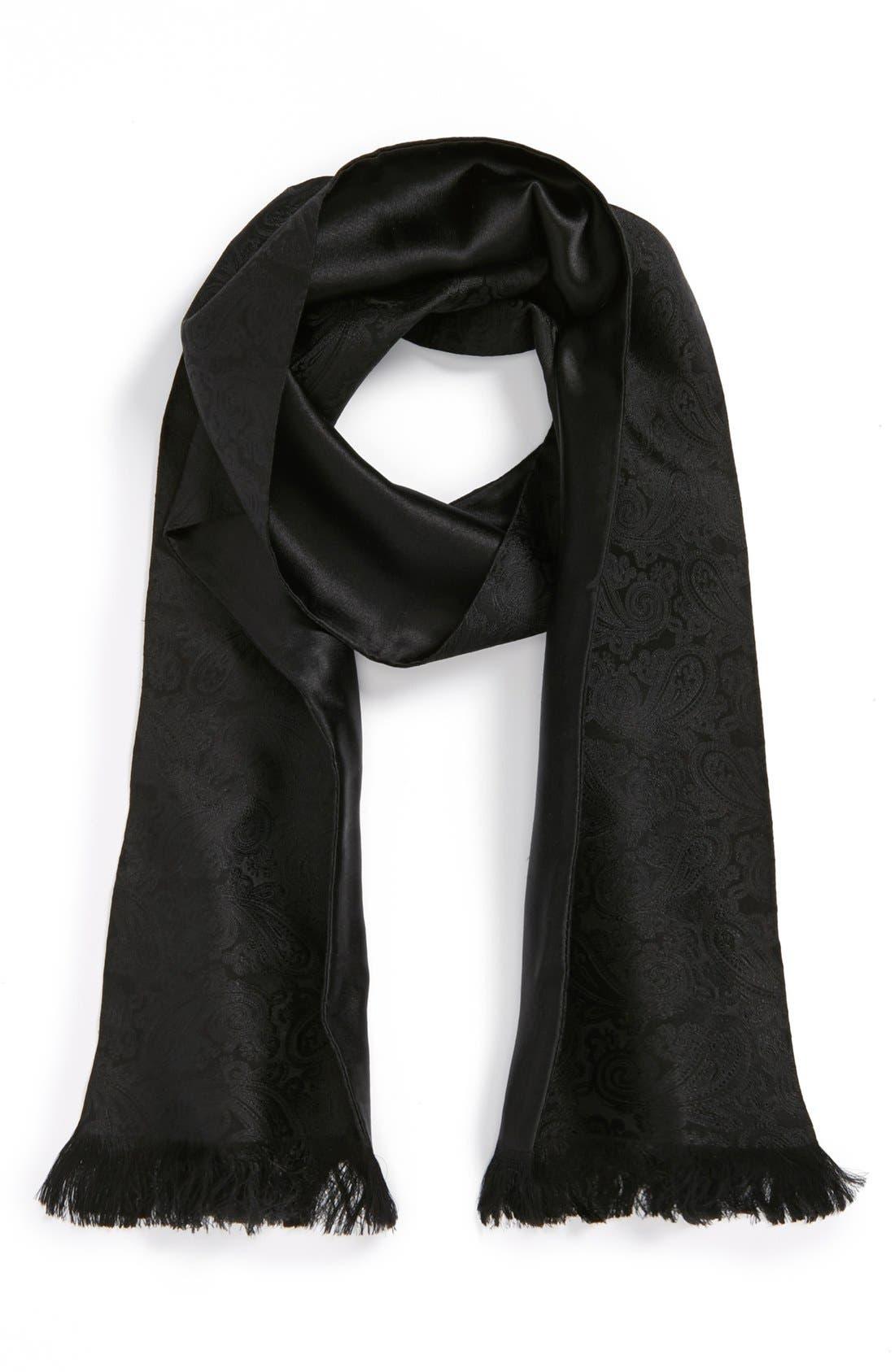 Alternate Image 1 Selected - The Kooples Paisley Silk Scarf
