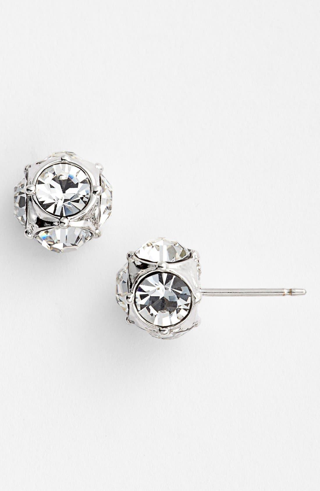 Alternate Image 1 Selected - kate spade new york small ball stud earrings