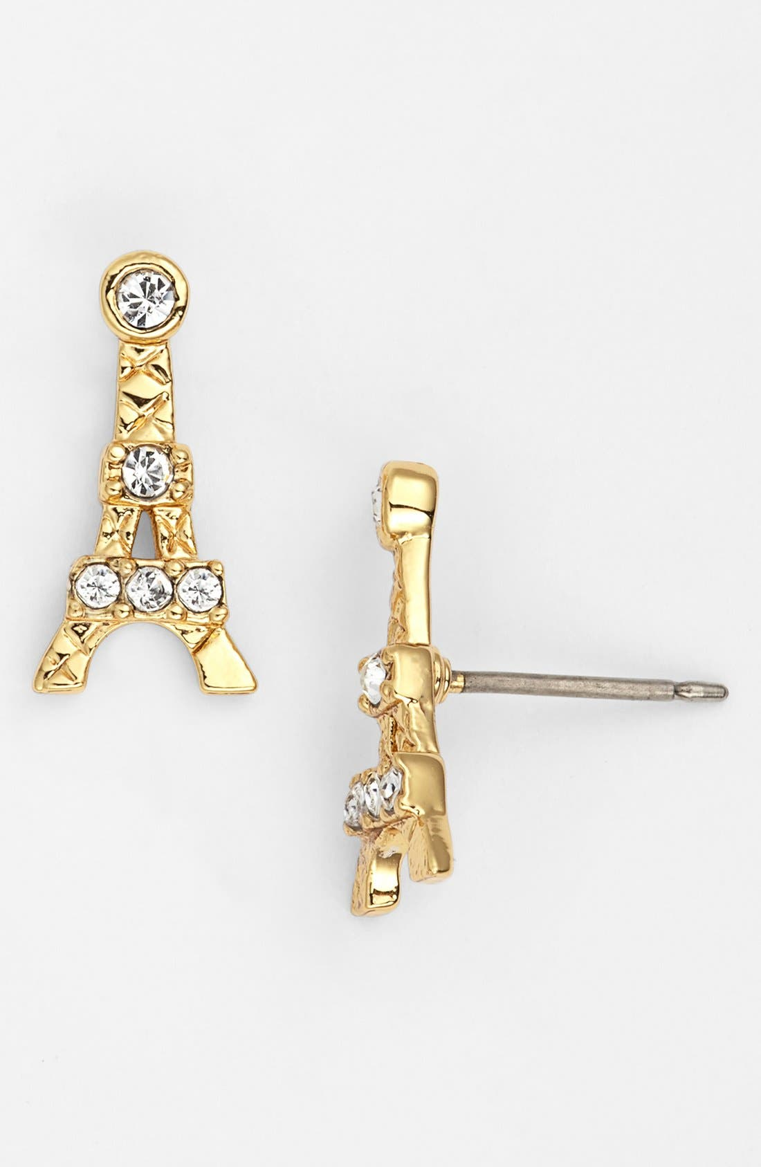 Alternate Image 1 Selected - Juicy Couture Eiffel Tower Stud Earrings
