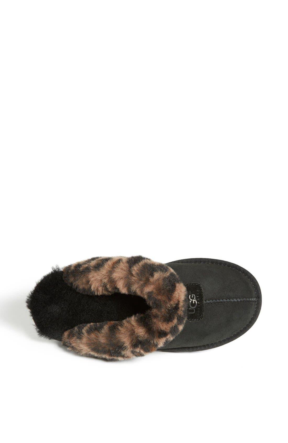 Alternate Image 3  - UGG® Leopard Spot Slipper (Women)