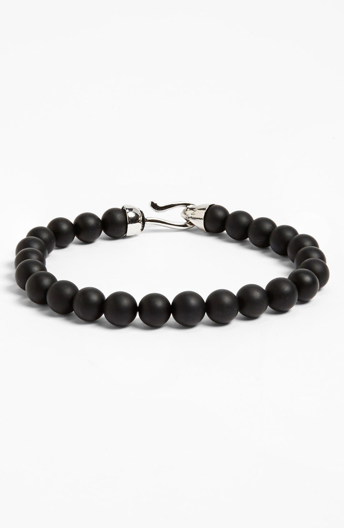 Alternate Image 1 Selected - Zack Onyx Beaded Bracelet