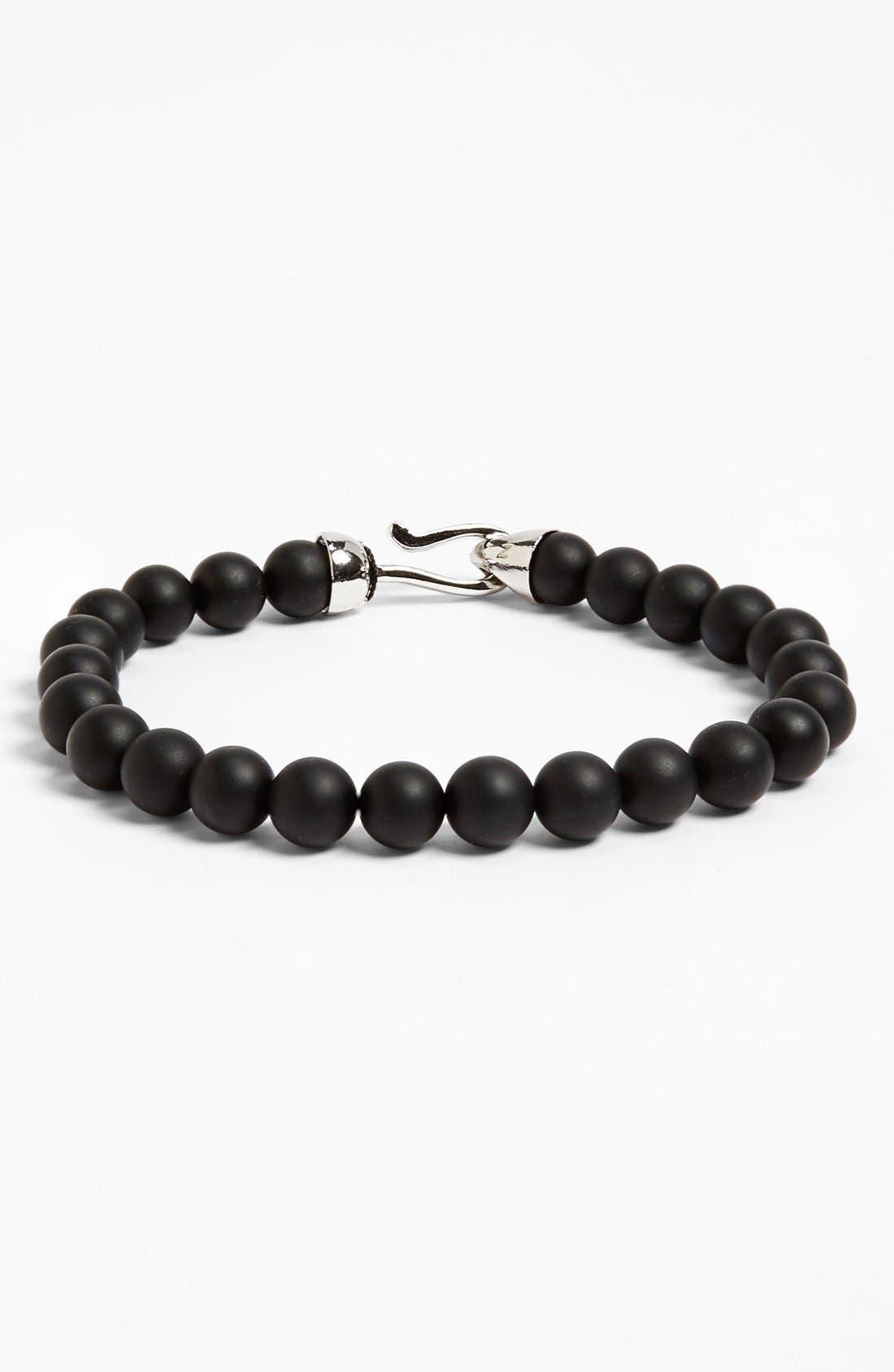 Main Image - Zack Onyx Beaded Bracelet
