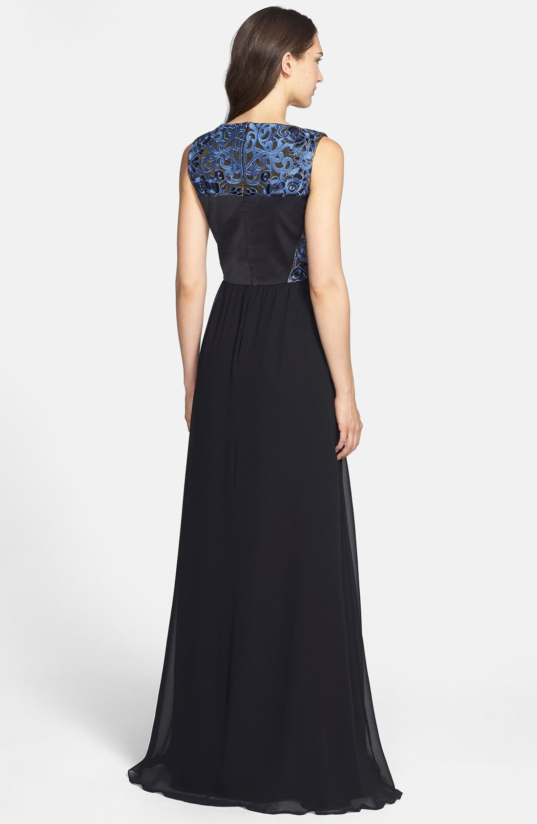 Alternate Image 2  - ERIN erin fetherston 'Clemence' Embroidery Embellished Gown