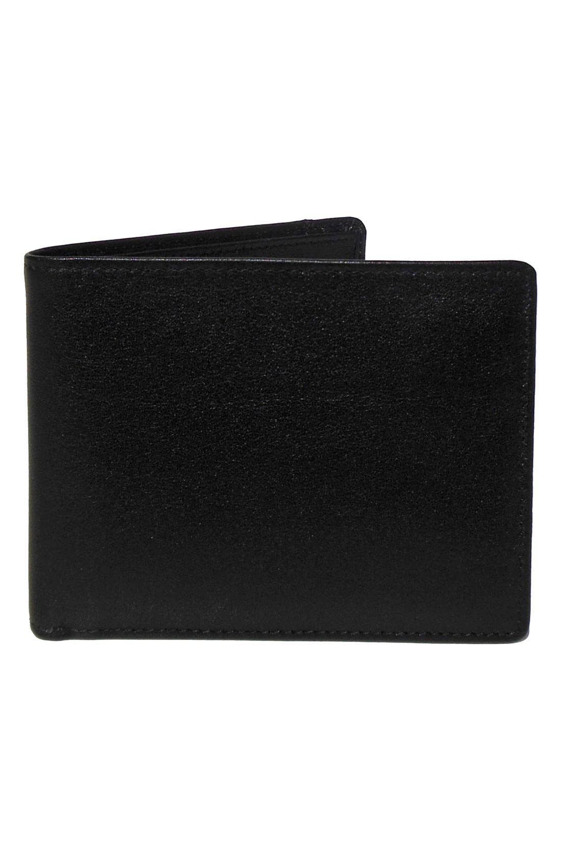 BOCONI 'Grant' RFID Blocker Removable Passcase Leather Wallet