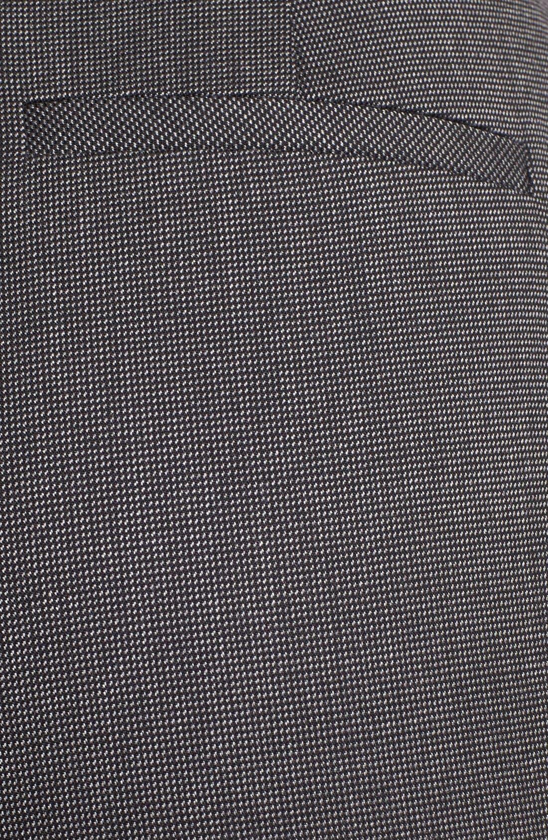 Alternate Image 3  - Halogen® 'Taylor' Tweed Pants (Petite)