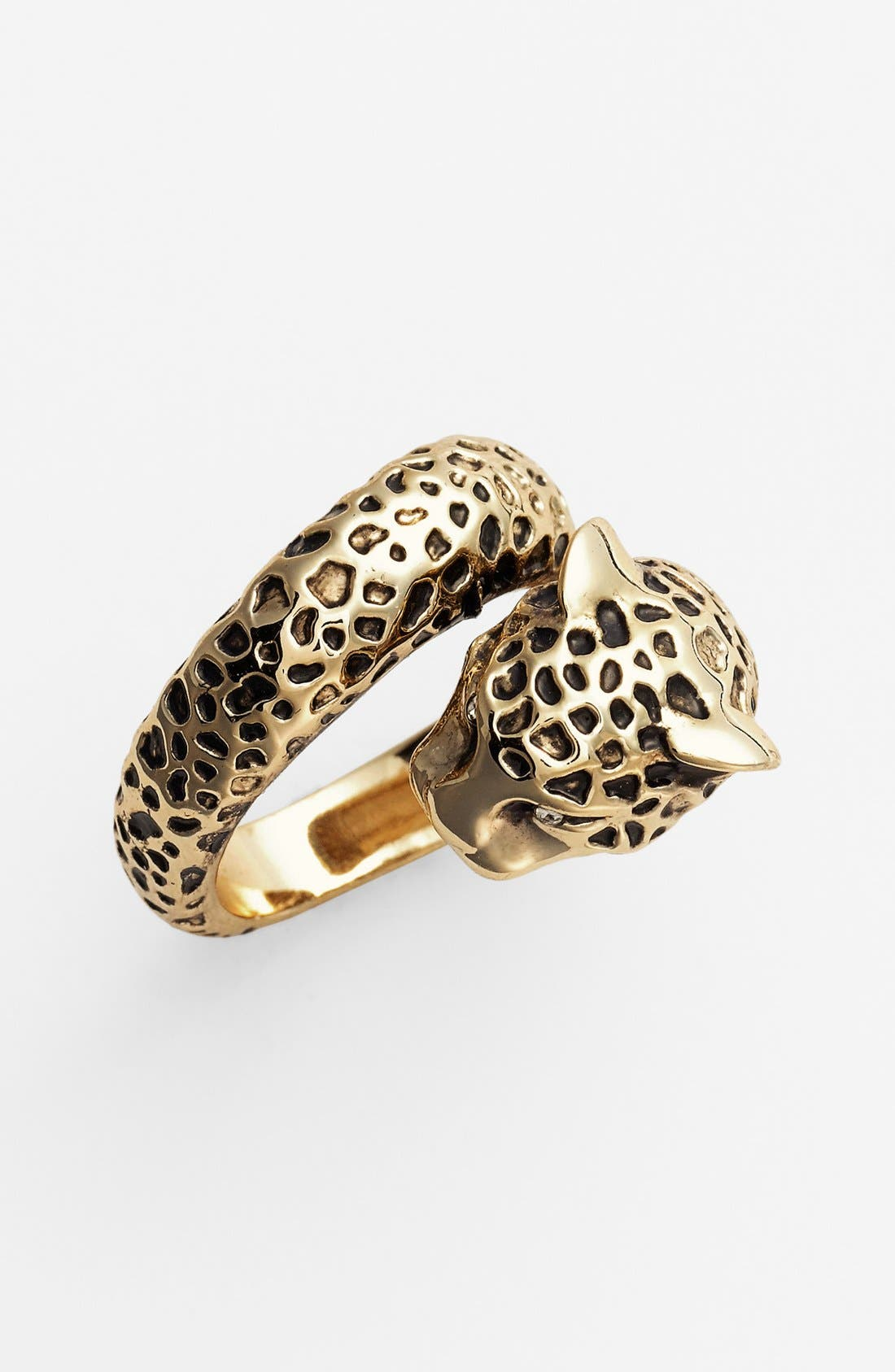 Main Image - Ariella Collection 'Critters' Cheetah Ring (Nordstrom Exclusive)