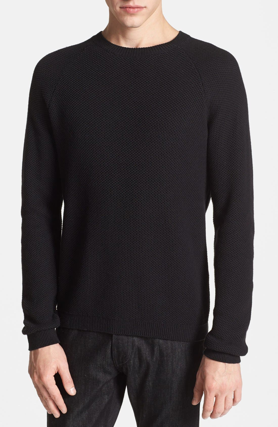 Alternate Image 1 Selected - Topman Crewneck Sweater