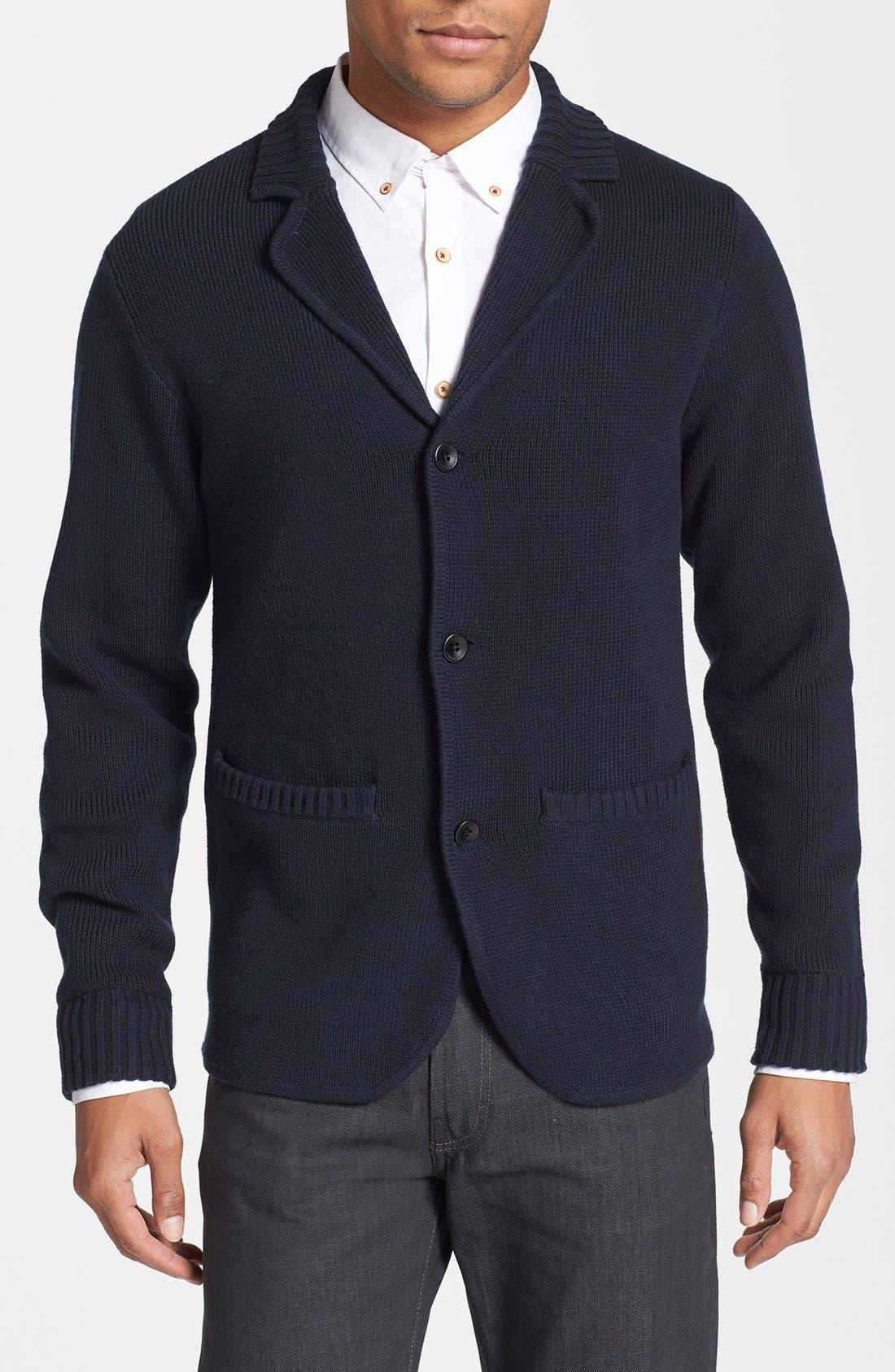 Alternate Image 1 Selected - Vince Camuto Slim Fit Blazer Cardigan