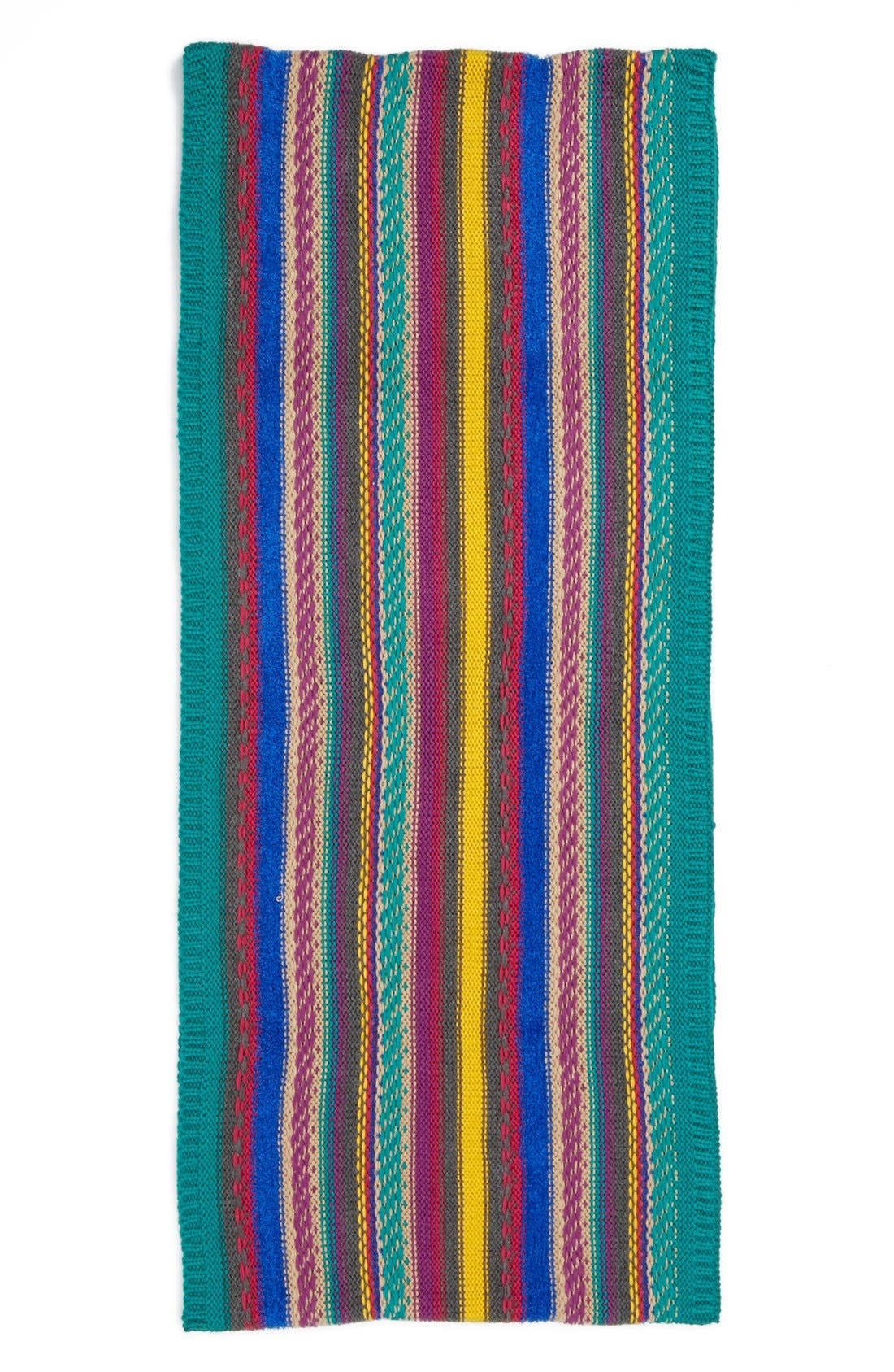Alternate Image 2  - Echo 'Nostalgic Stripe' Knit Infinity Scarf