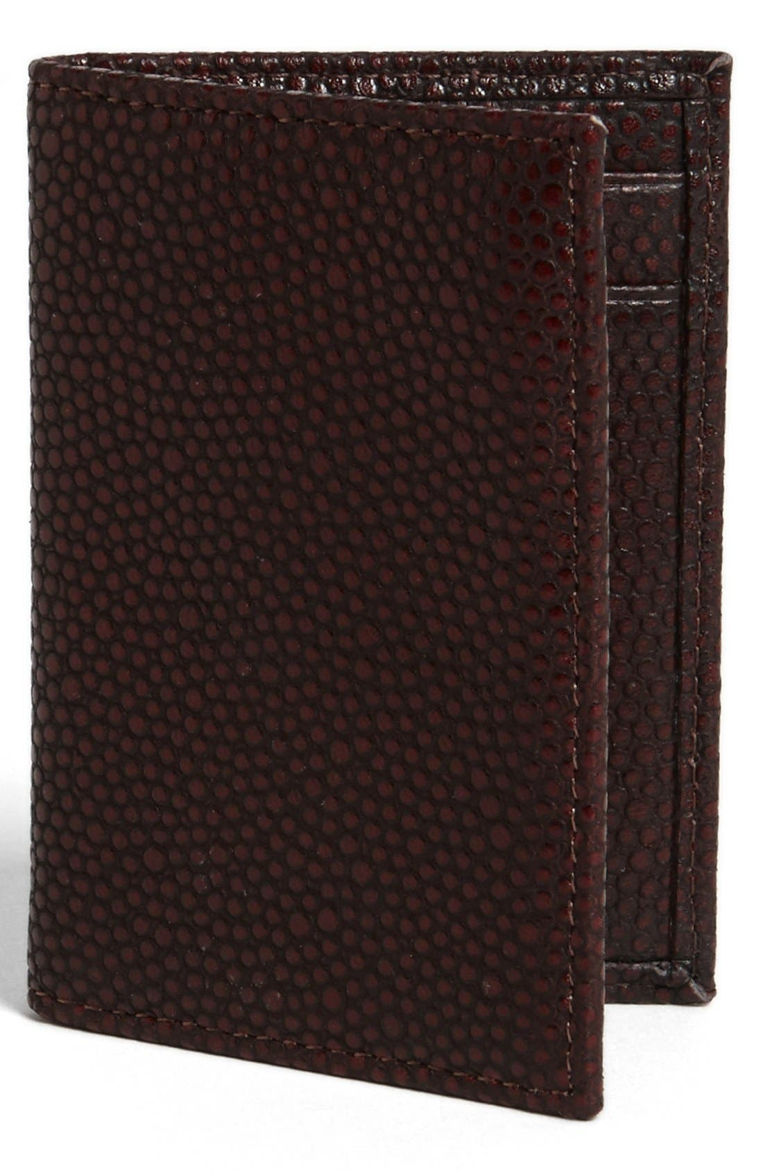 Alternate Image 1 Selected - John Varvatos Collection Leather Card Case