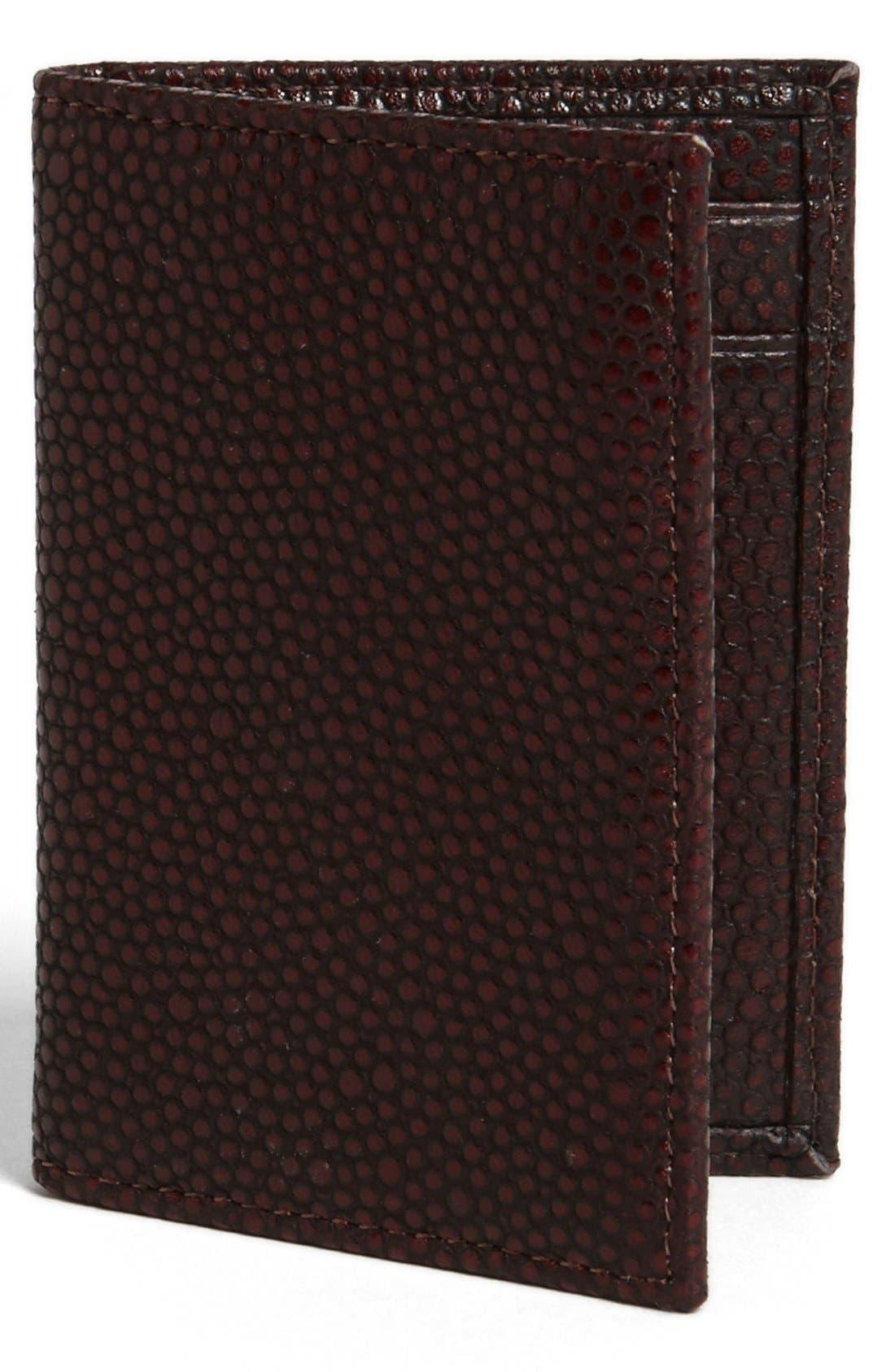 Main Image - John Varvatos Collection Leather Card Case