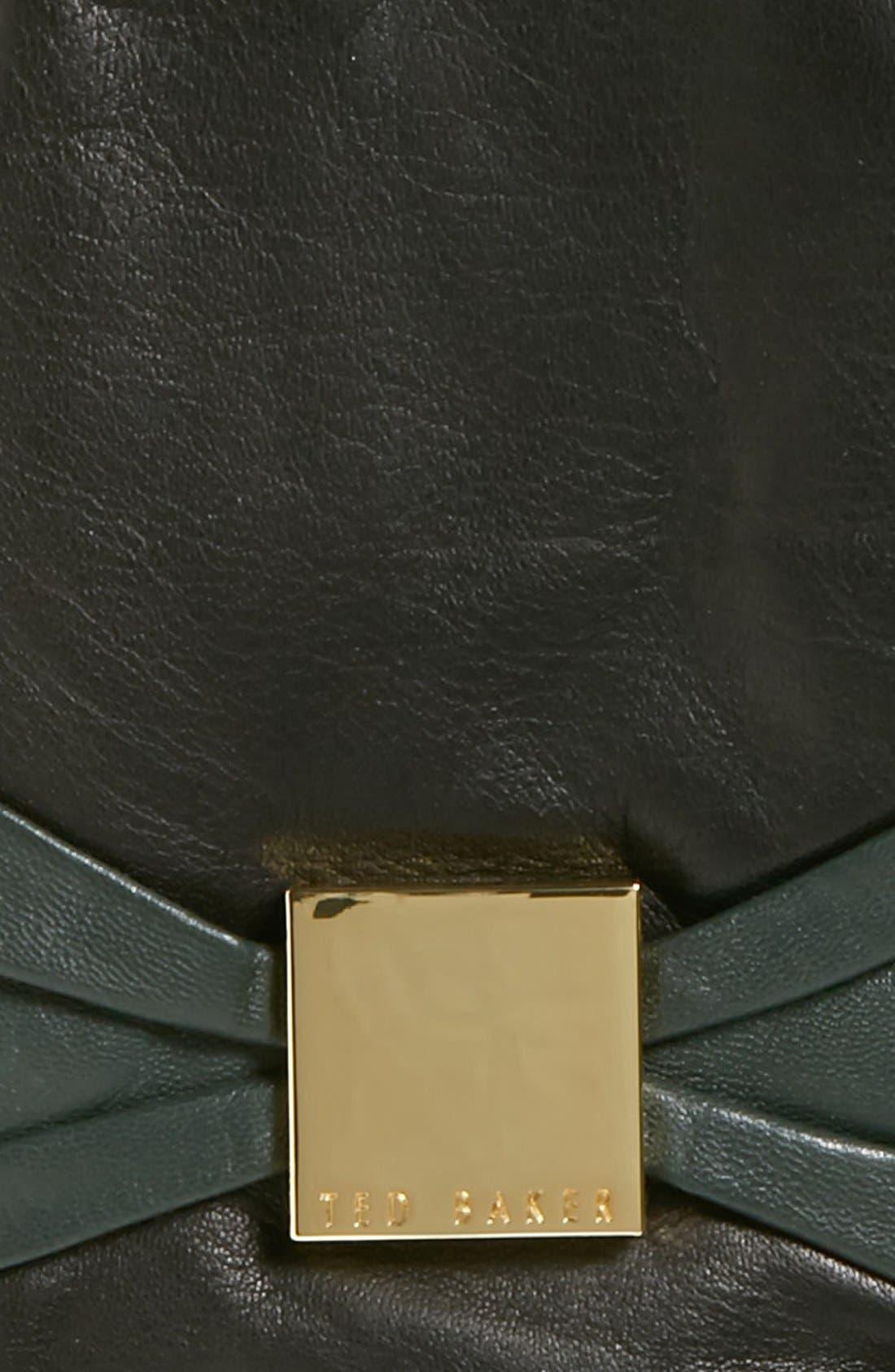 Alternate Image 2  - Ted Baker London 'Bow' Leather Tech Gloves
