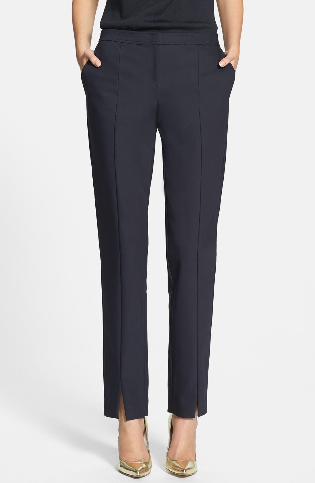 Alternate Image 1 Selected - St. John Collection 'Jennifer' Scuba Ankle Pants