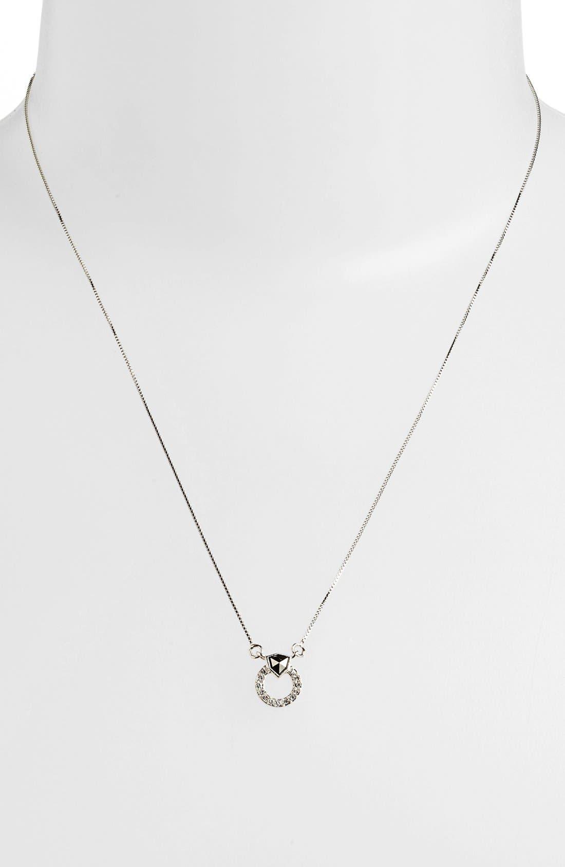 Alternate Image 2  - Judith Jack 'Shielded' Boxed Pendant Necklace & Stud Earring Set