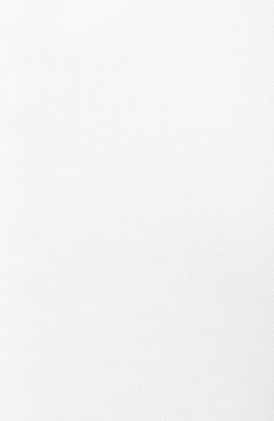 Alternate Image 3  - Armani Collezioni Sleeveless Flounce Skirt Linen Dress