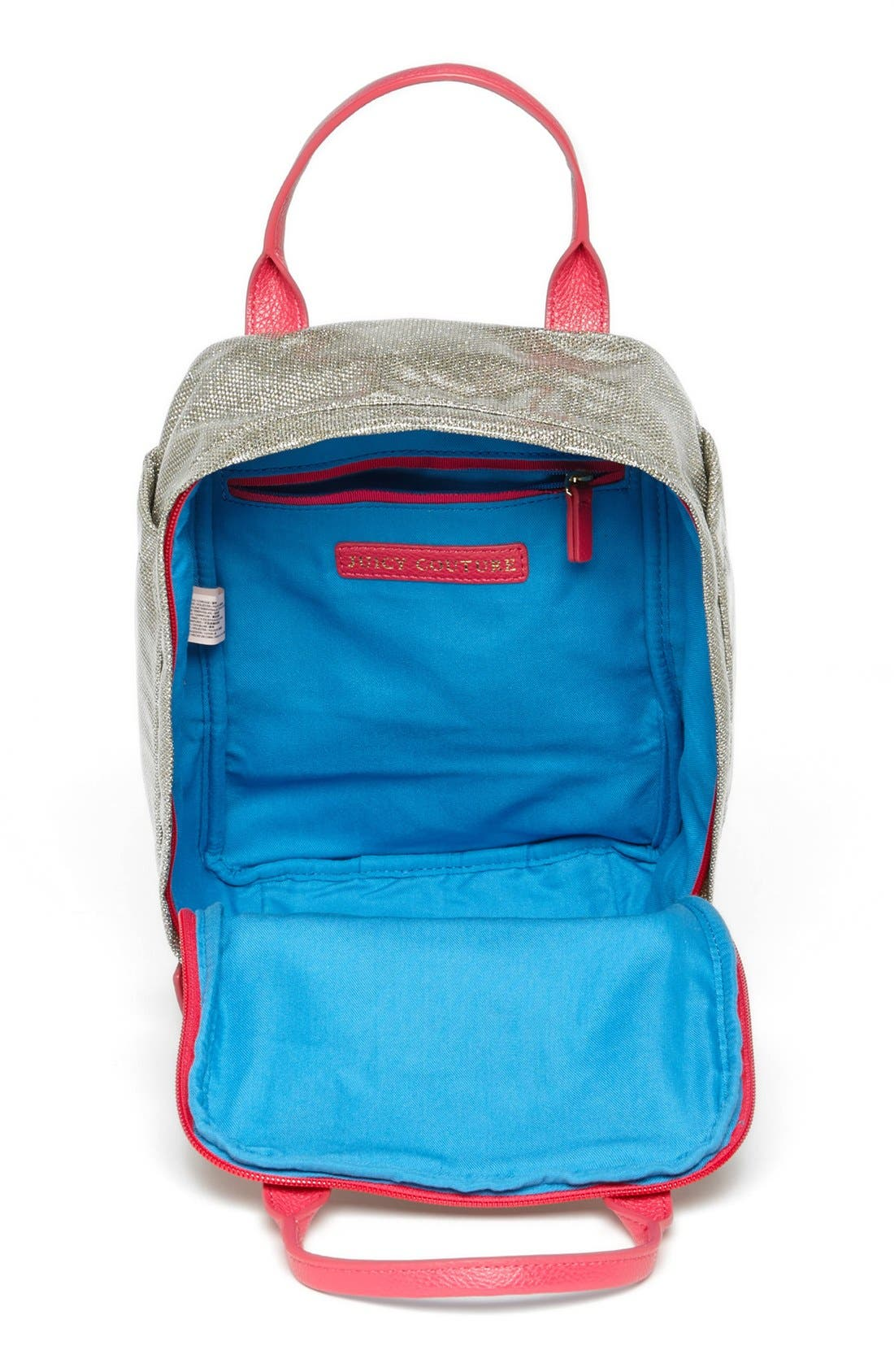 Alternate Image 3  - Juicy Couture 'Bright Diamond' Backpack (Girls)
