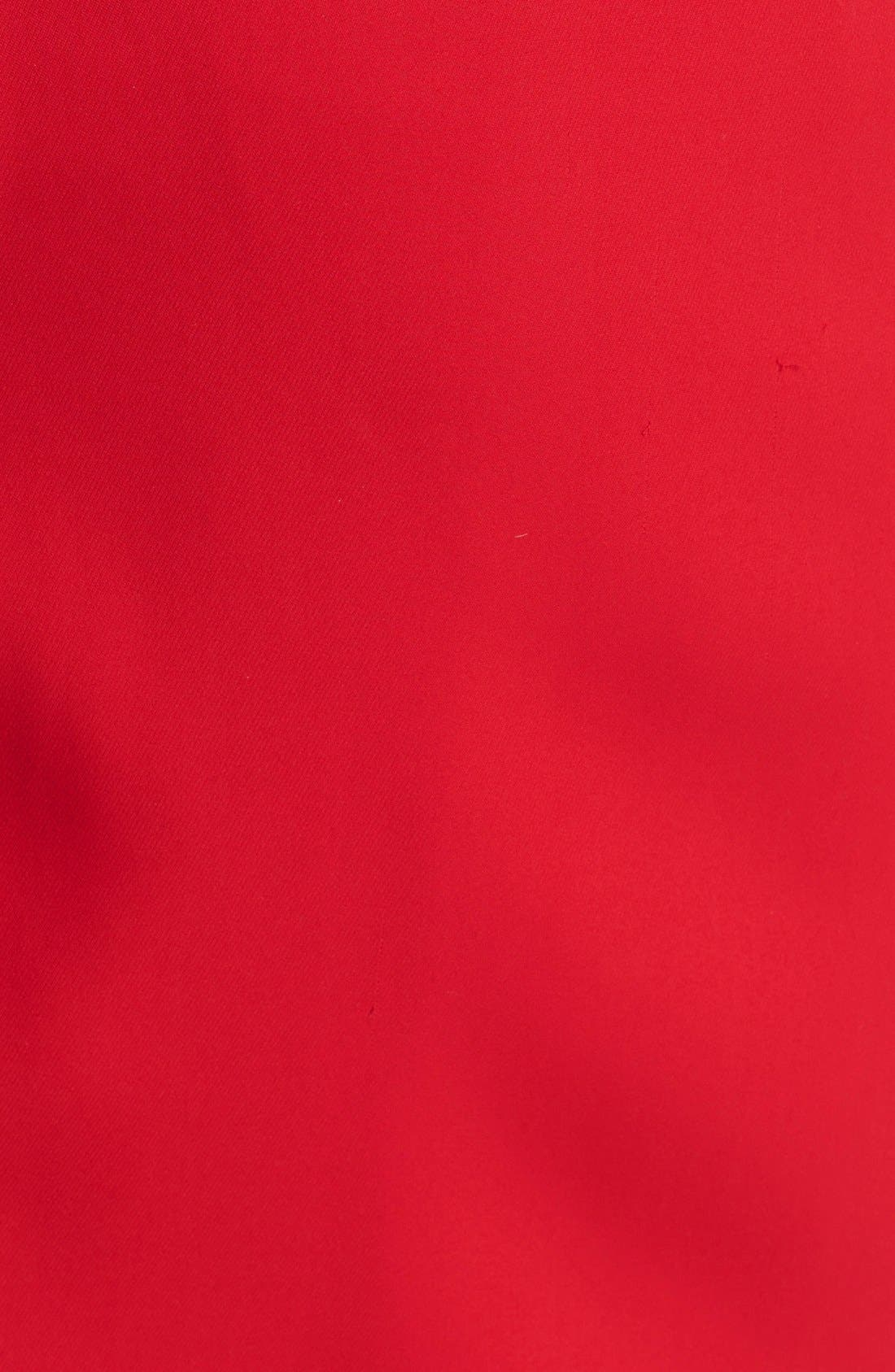 Alternate Image 3  - David Meister Scuba Knit Sheath Dress