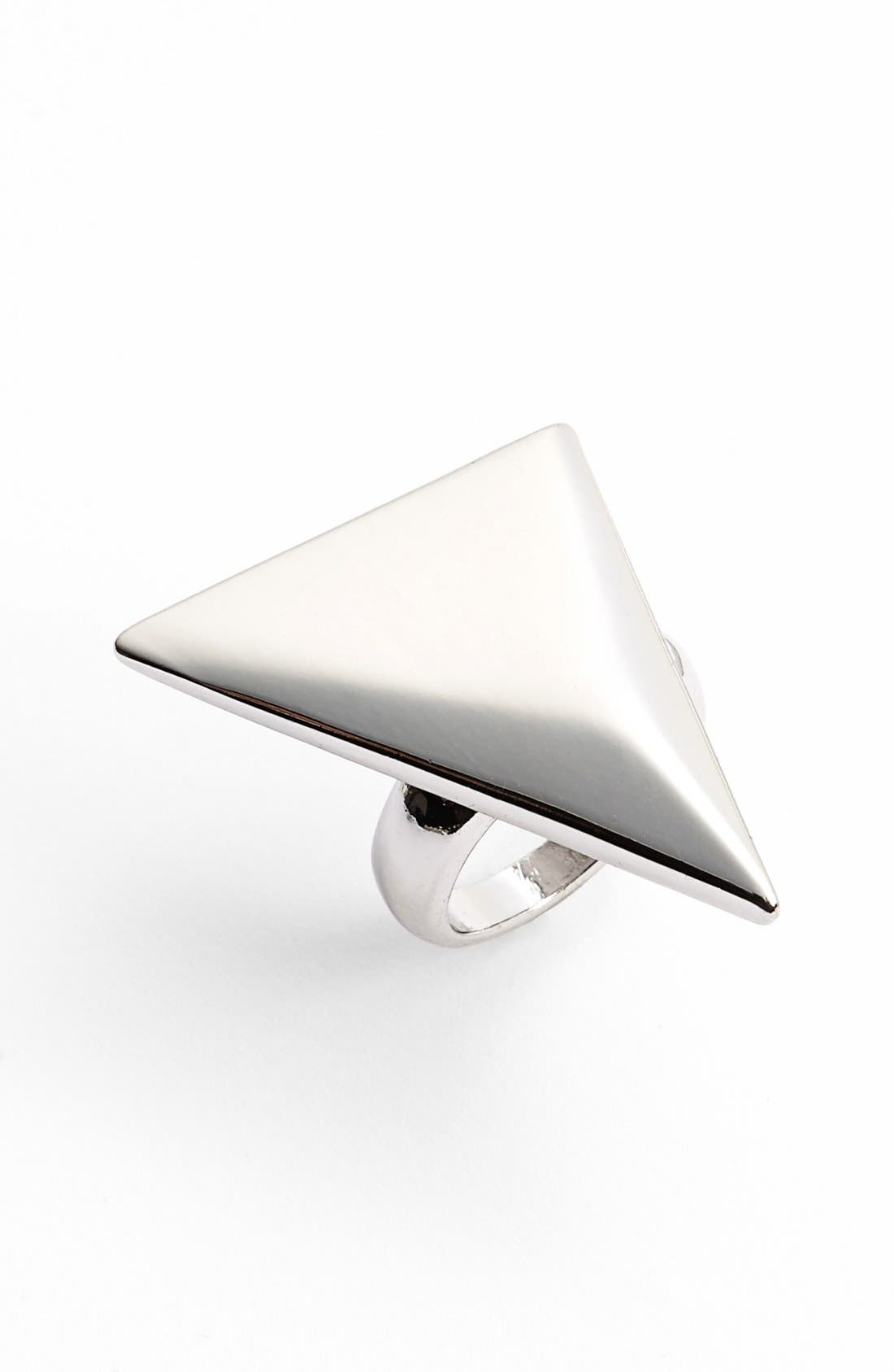 Alternate Image 1 Selected - Topshop Triangle Ring