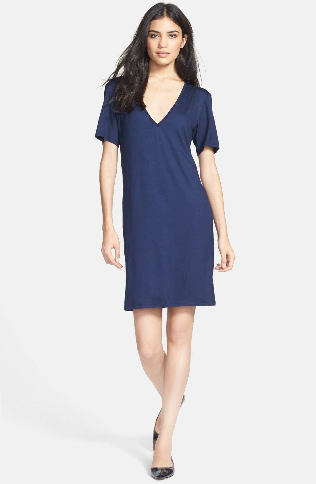 Alternate Image 1 Selected - Trina Turk 'Lanna' Jersey T-Shirt Dress