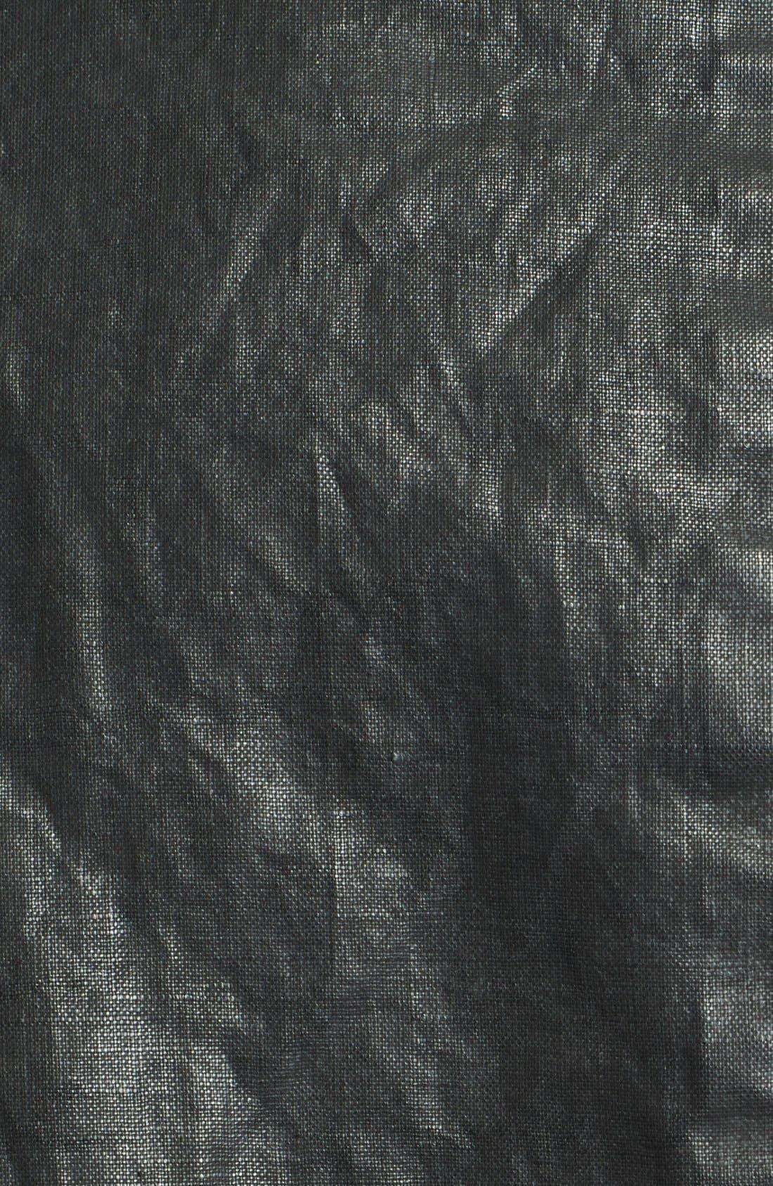 Alternate Image 3  - John Varvatos Collection Resin Coated Linen Jacket