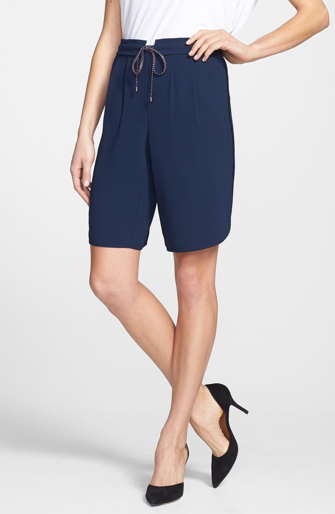 Alternate Image 1 Selected - Trina Turk 'Kendrea' Drawstring Waist Shorts