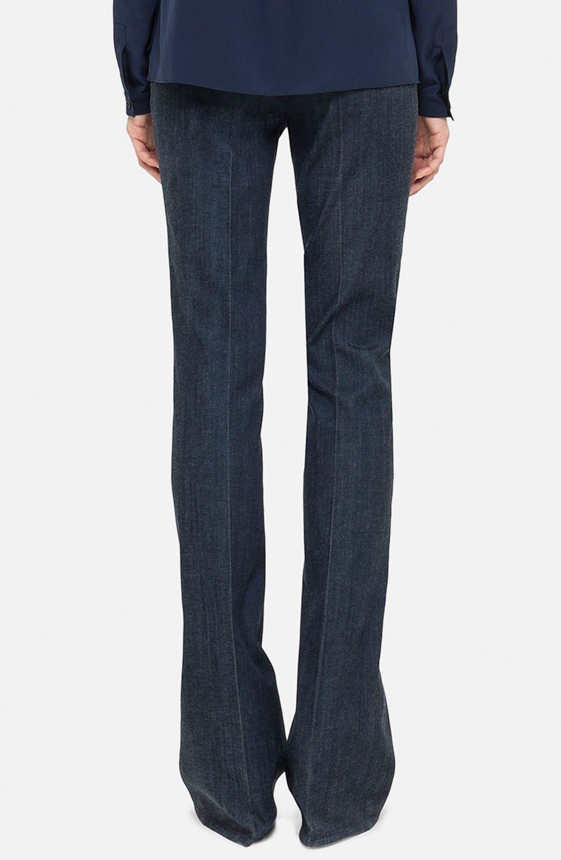 Alternate Image 2  - Akris punto Bootcut Stretch Trousers
